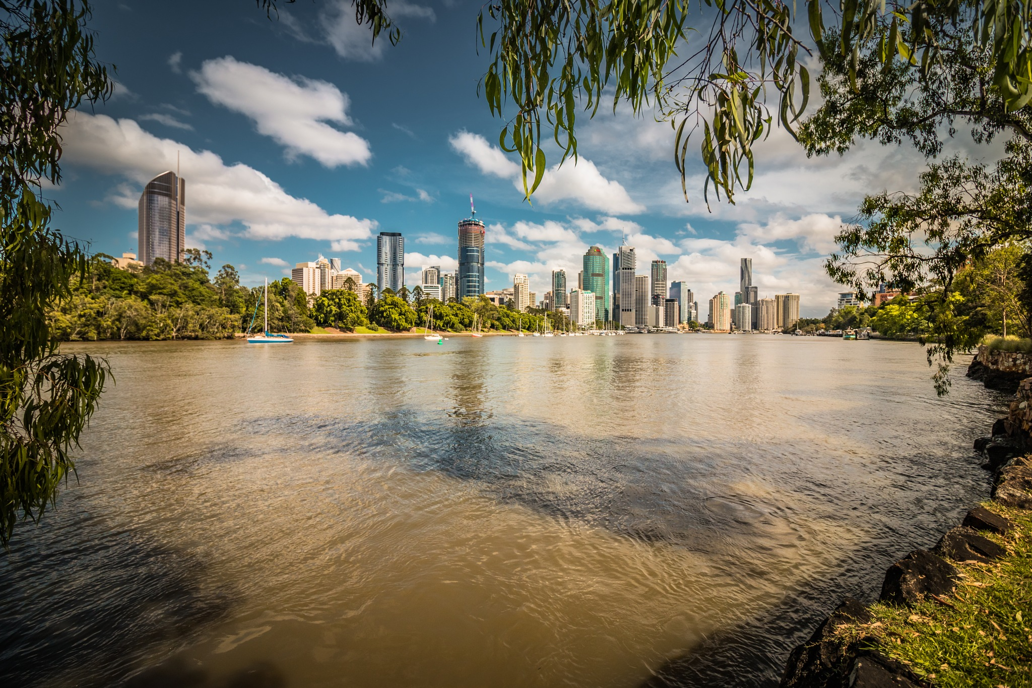 The Heart of Brisbane by Carole Pallier
