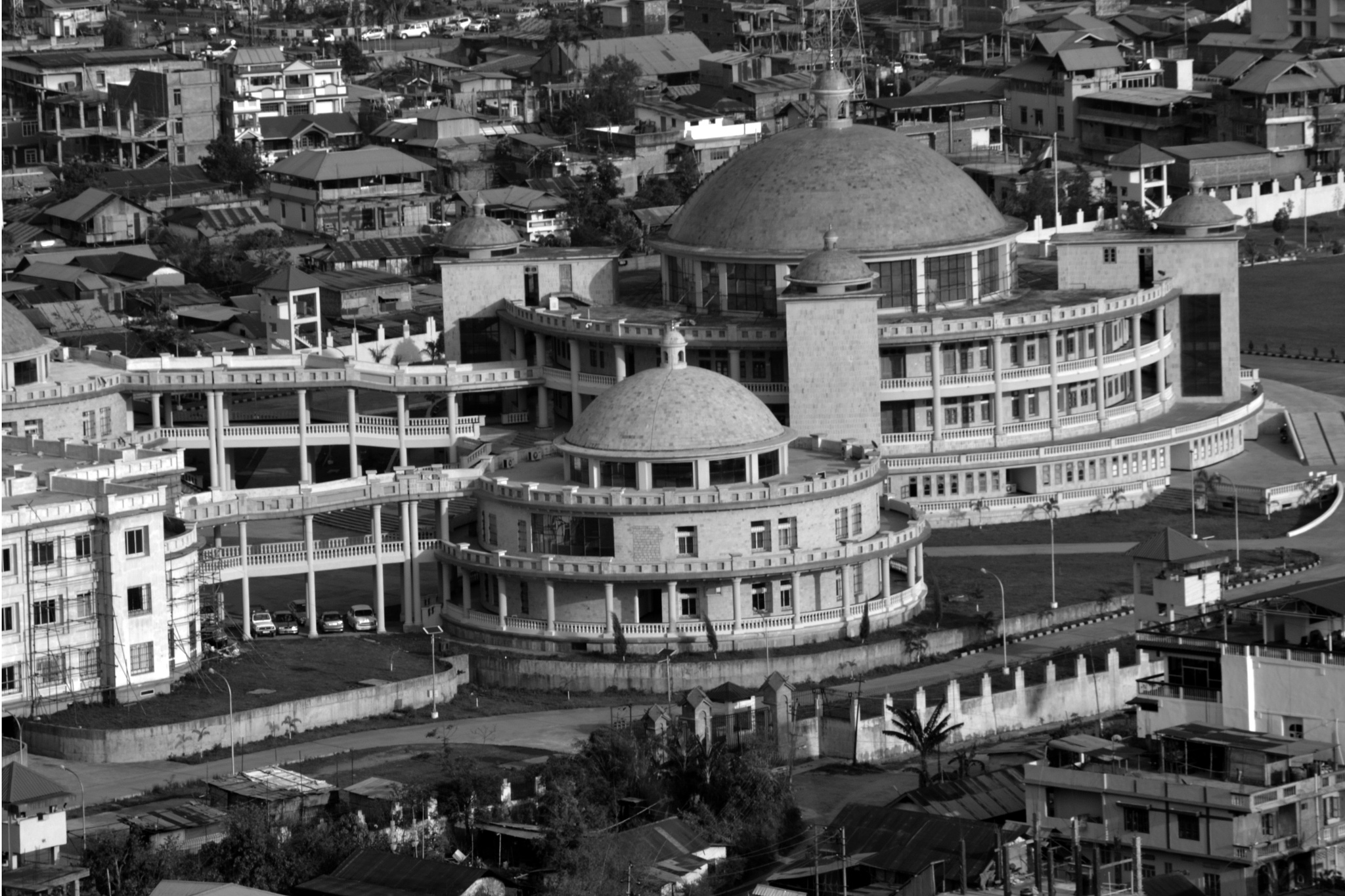 Manipur Assembly Complex, Imphal   by umakanta