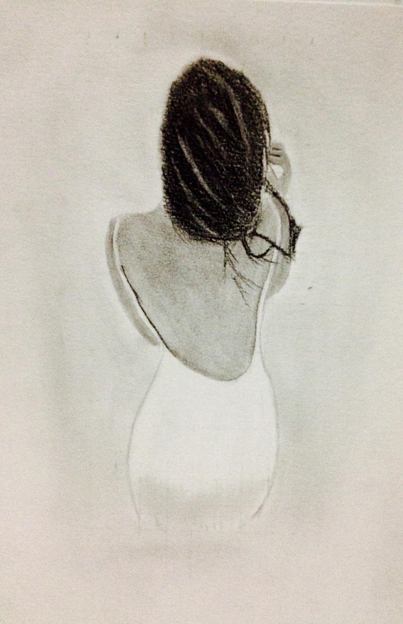 Backless Sketch by zamphotography