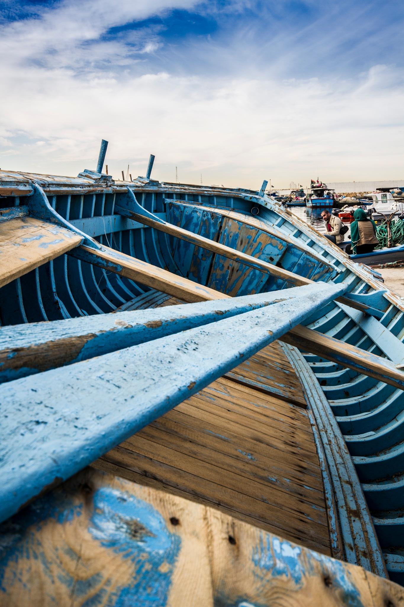 The Blue way by Raowf Porey