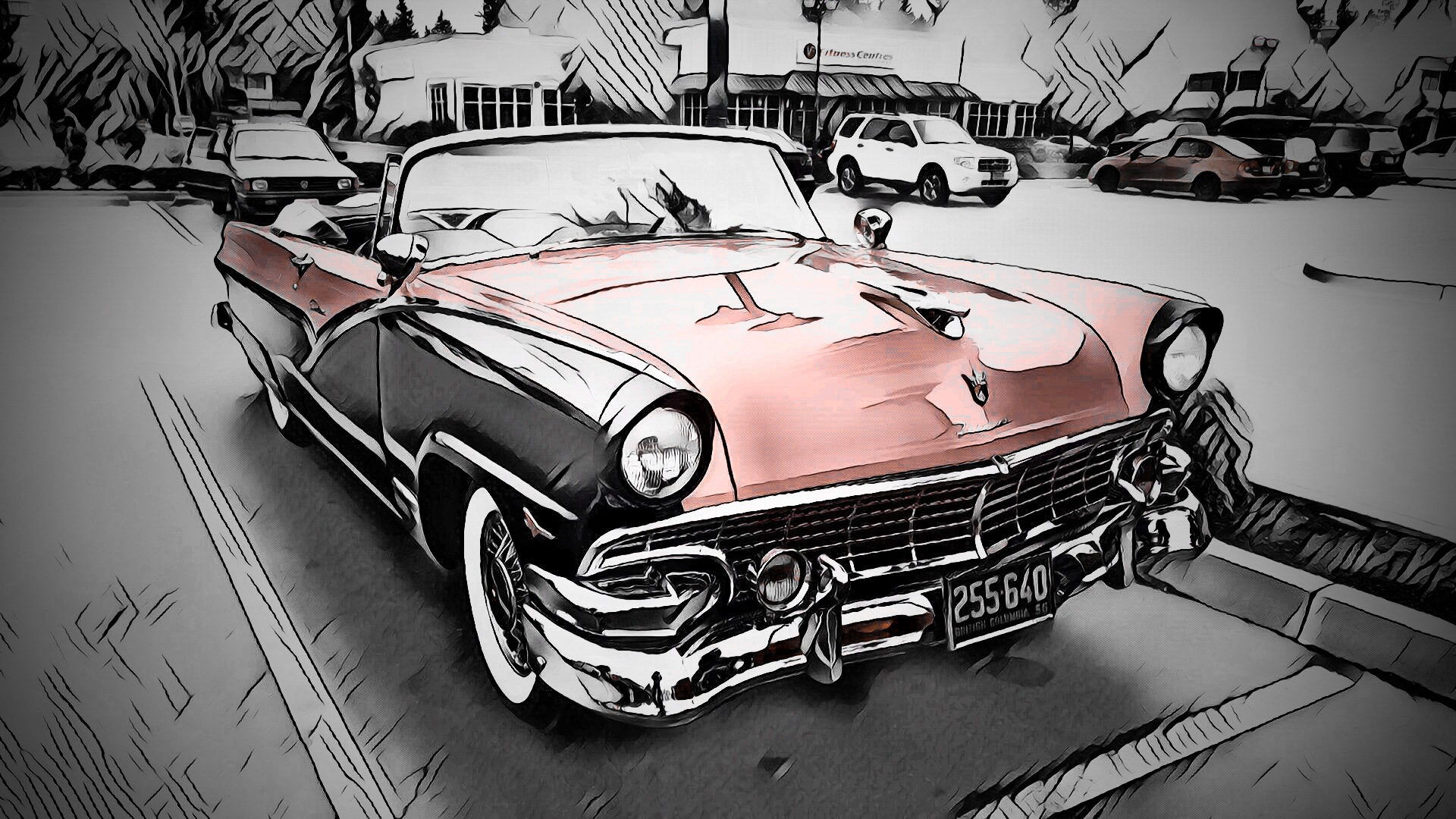 Ford Fairlane by Troy Haddad