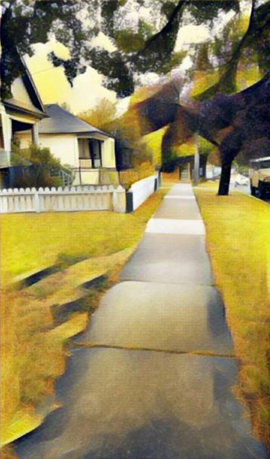 Sidewalk by Troy Haddad