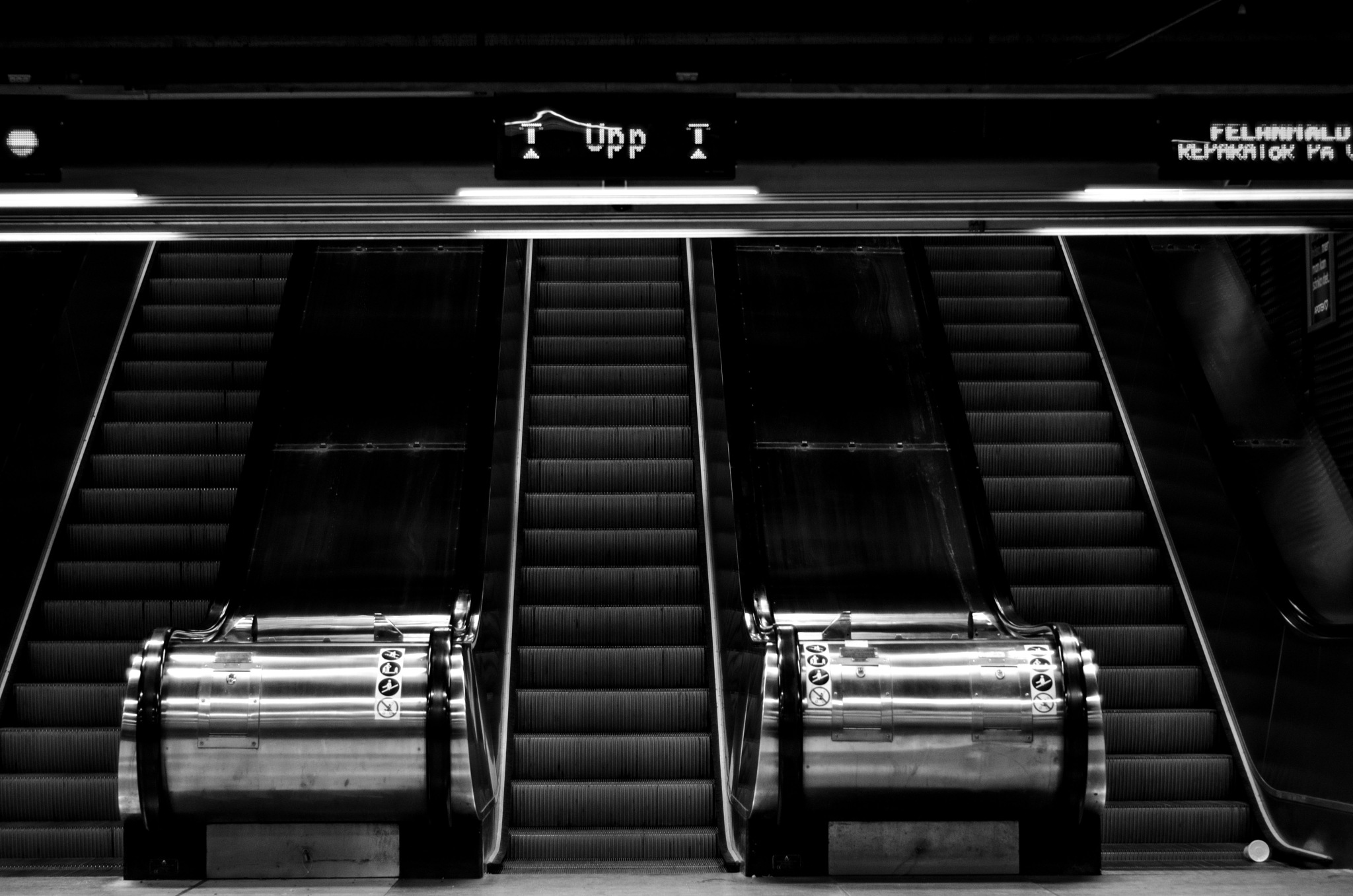 Escalators by Frederic Paulussen