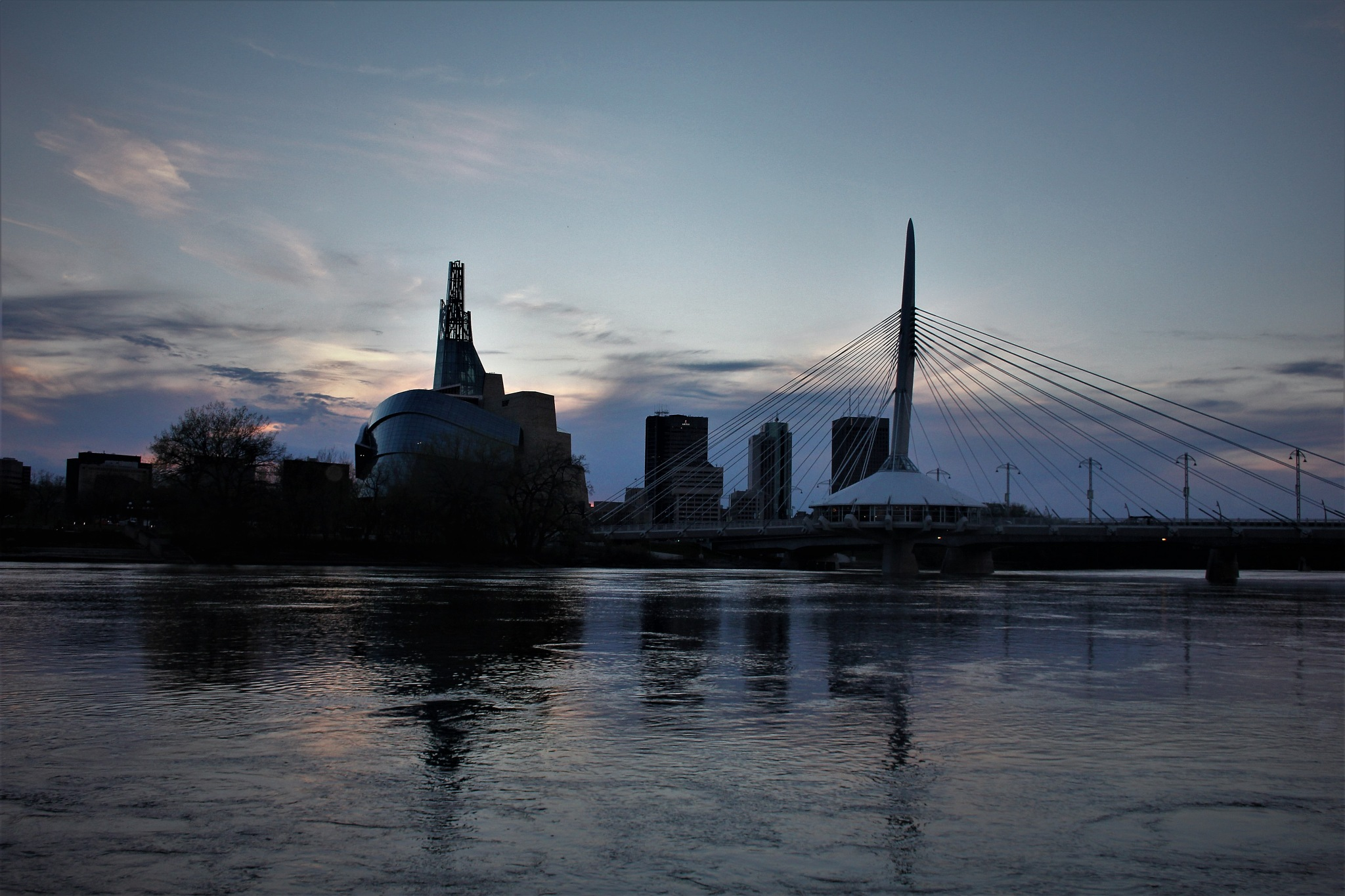 Winnipeg Skyline by David Imrie
