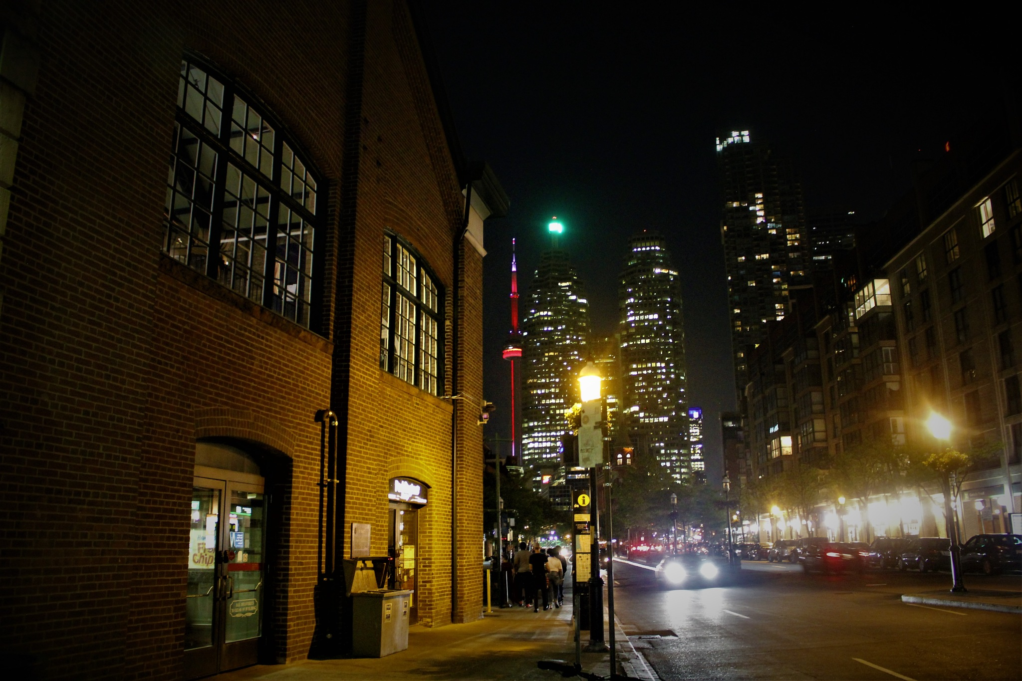 Toronto Night by David Imrie