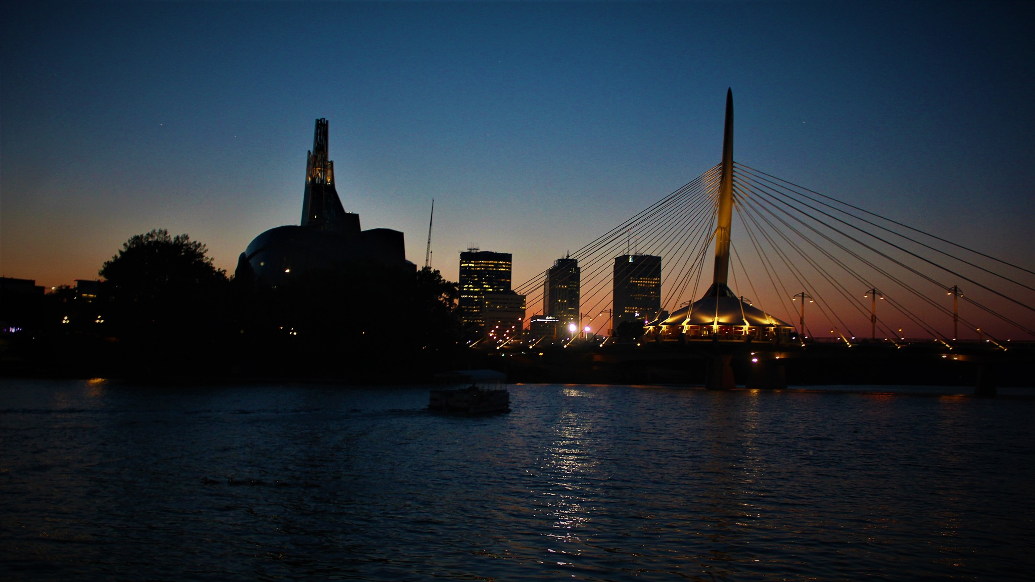 Winnipeg Skyline  by David Imrie
