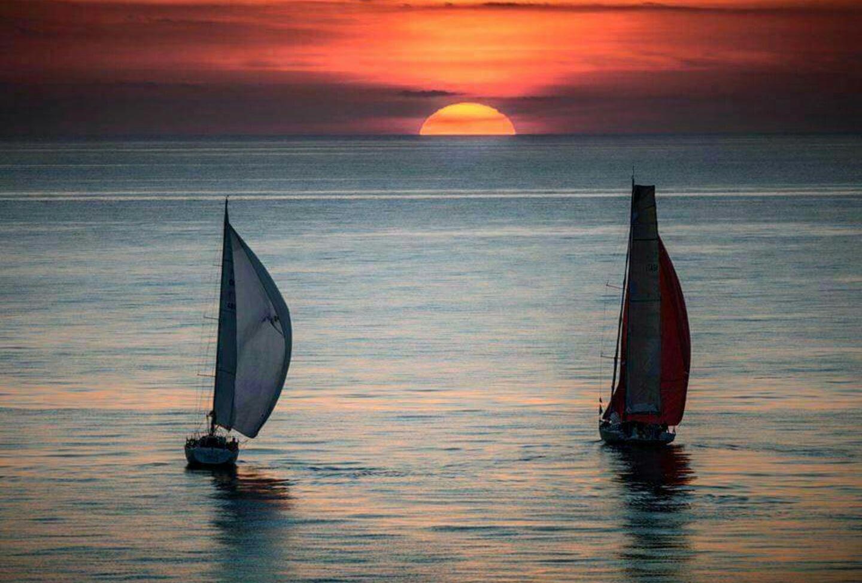 ⛵ Sailing  by Cobby Magor