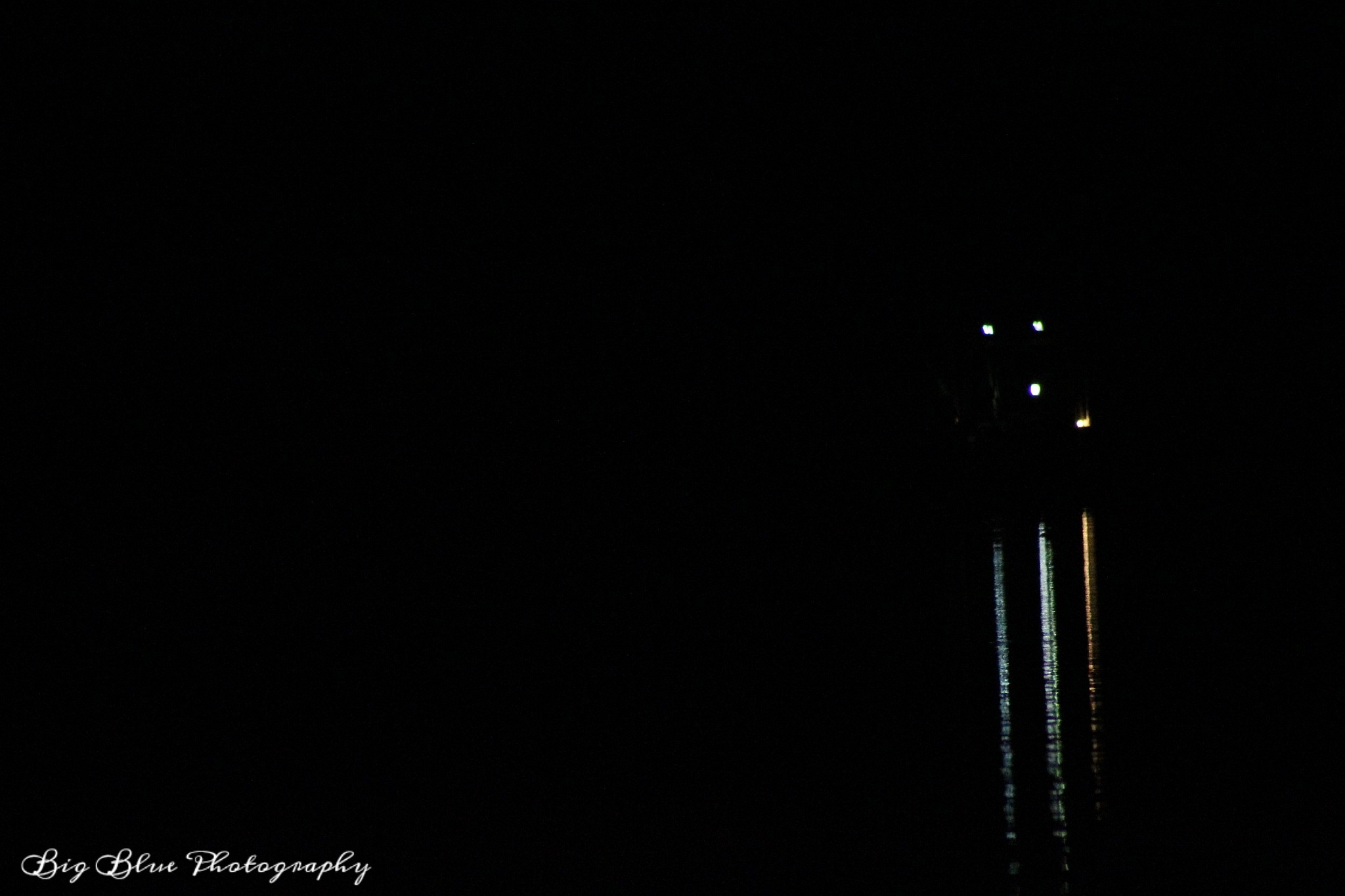 Shrimping Boat at Night by Sierra St Francis Photography