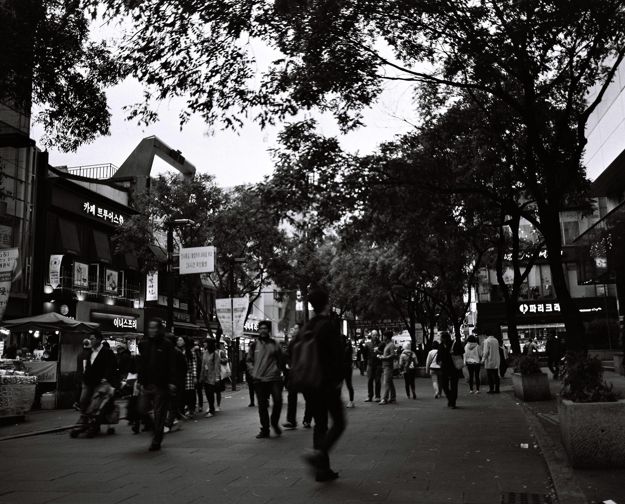 Street, Insadong by Hansaem Lee
