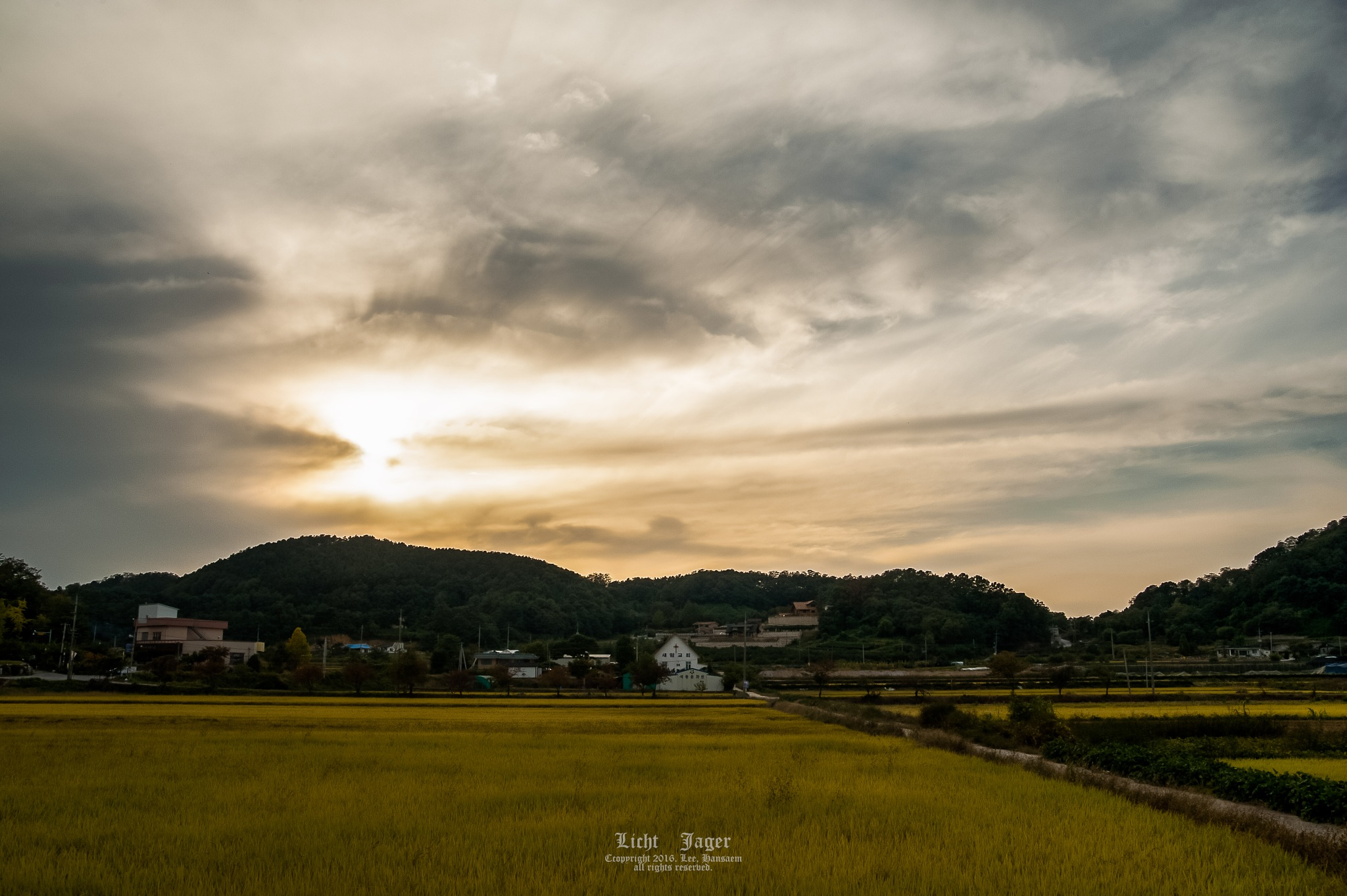 Photo in Landscape #sunset #landscape #country #photo