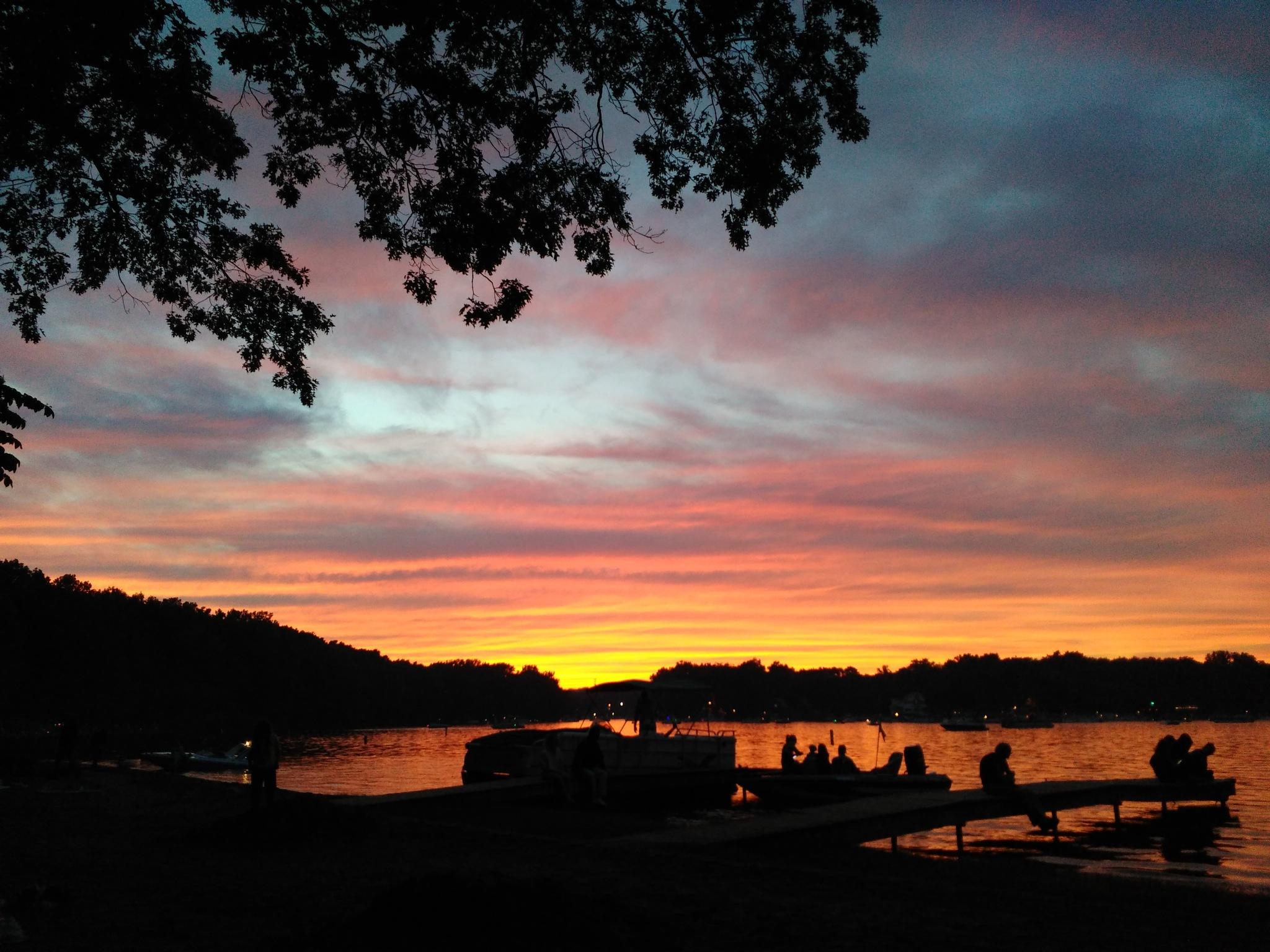 4th of July Sunset by Kathleen Velten
