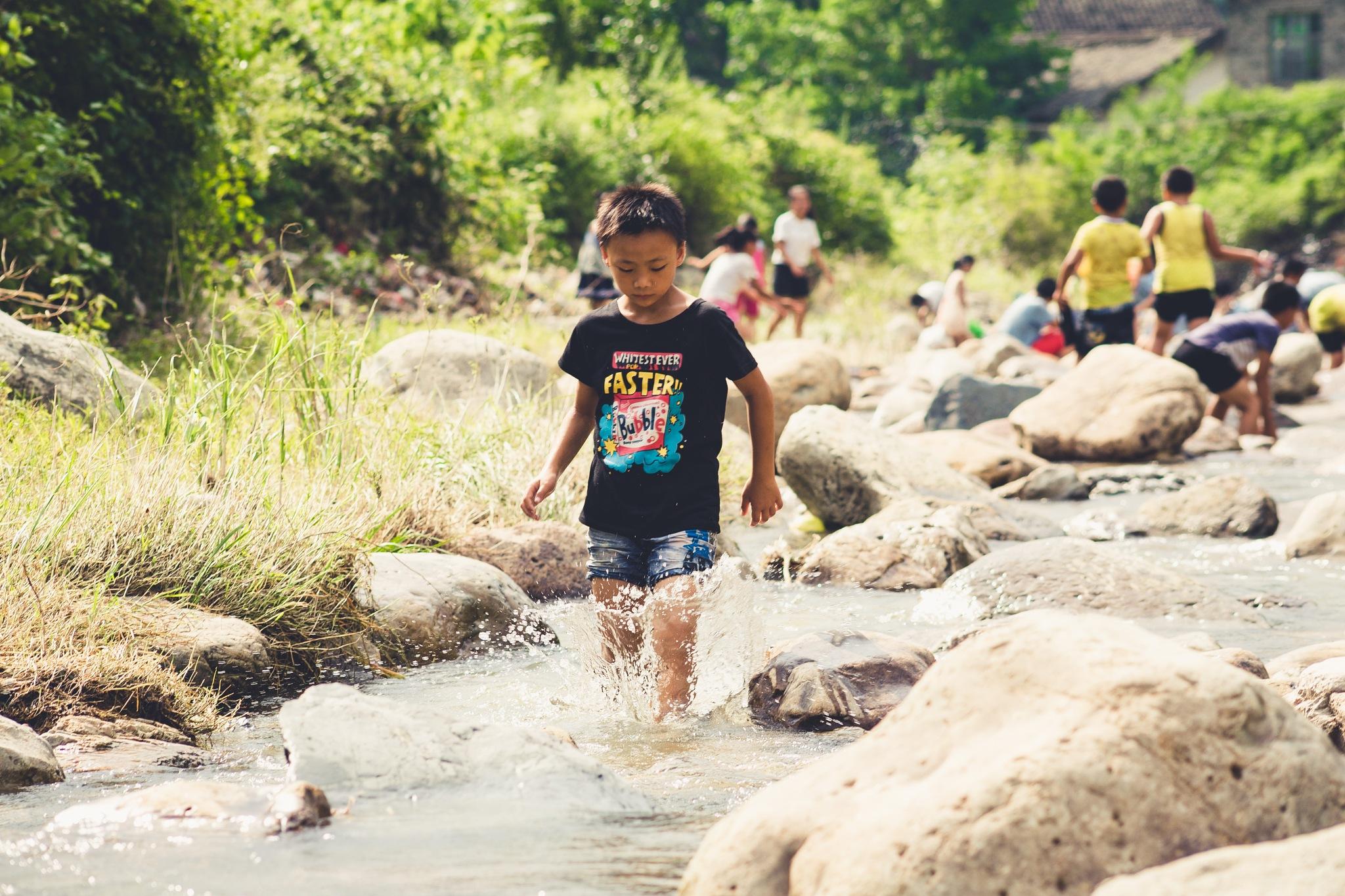 River Fun Time by FLAIR HANDAS