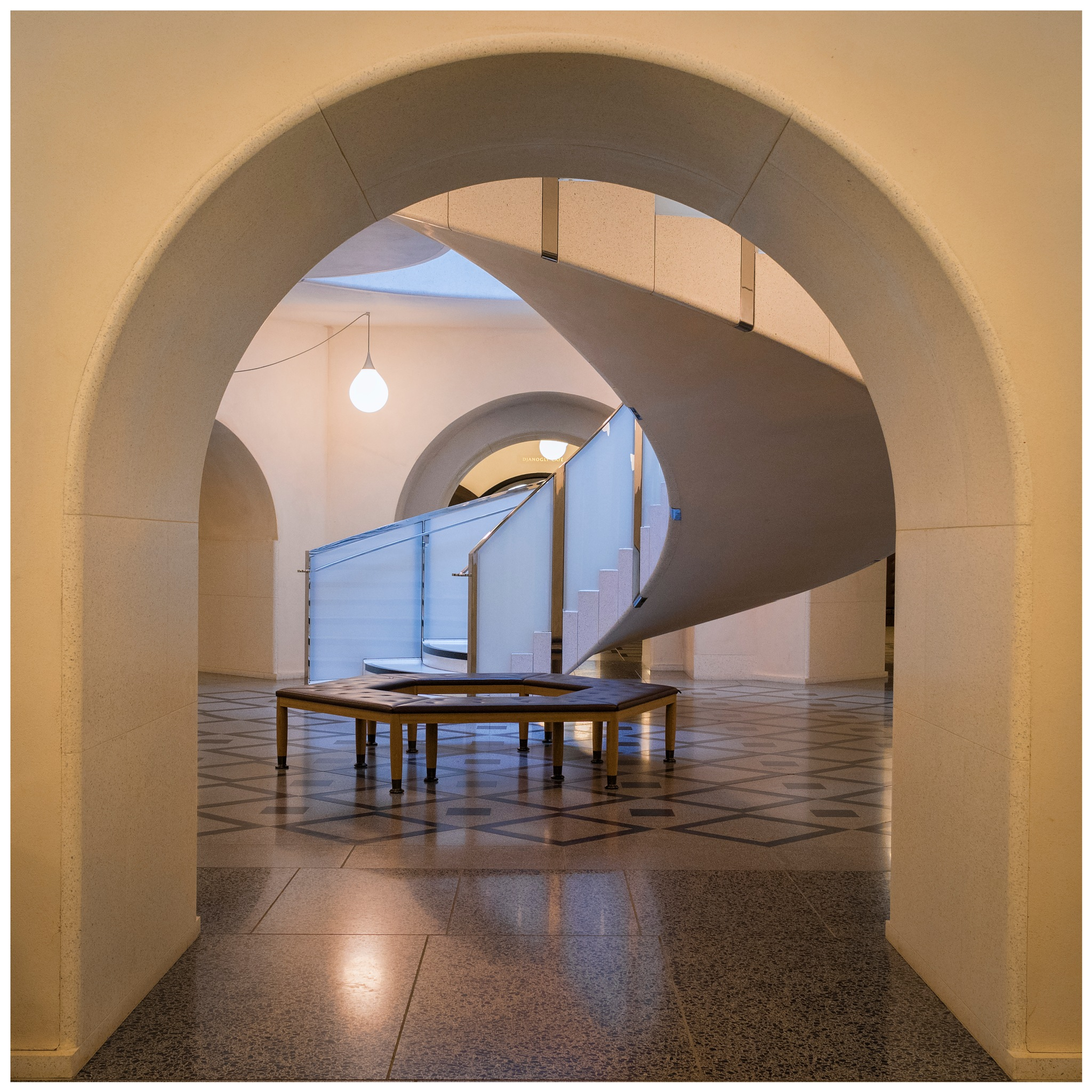 Arch with Stairs by Colin Ritchie