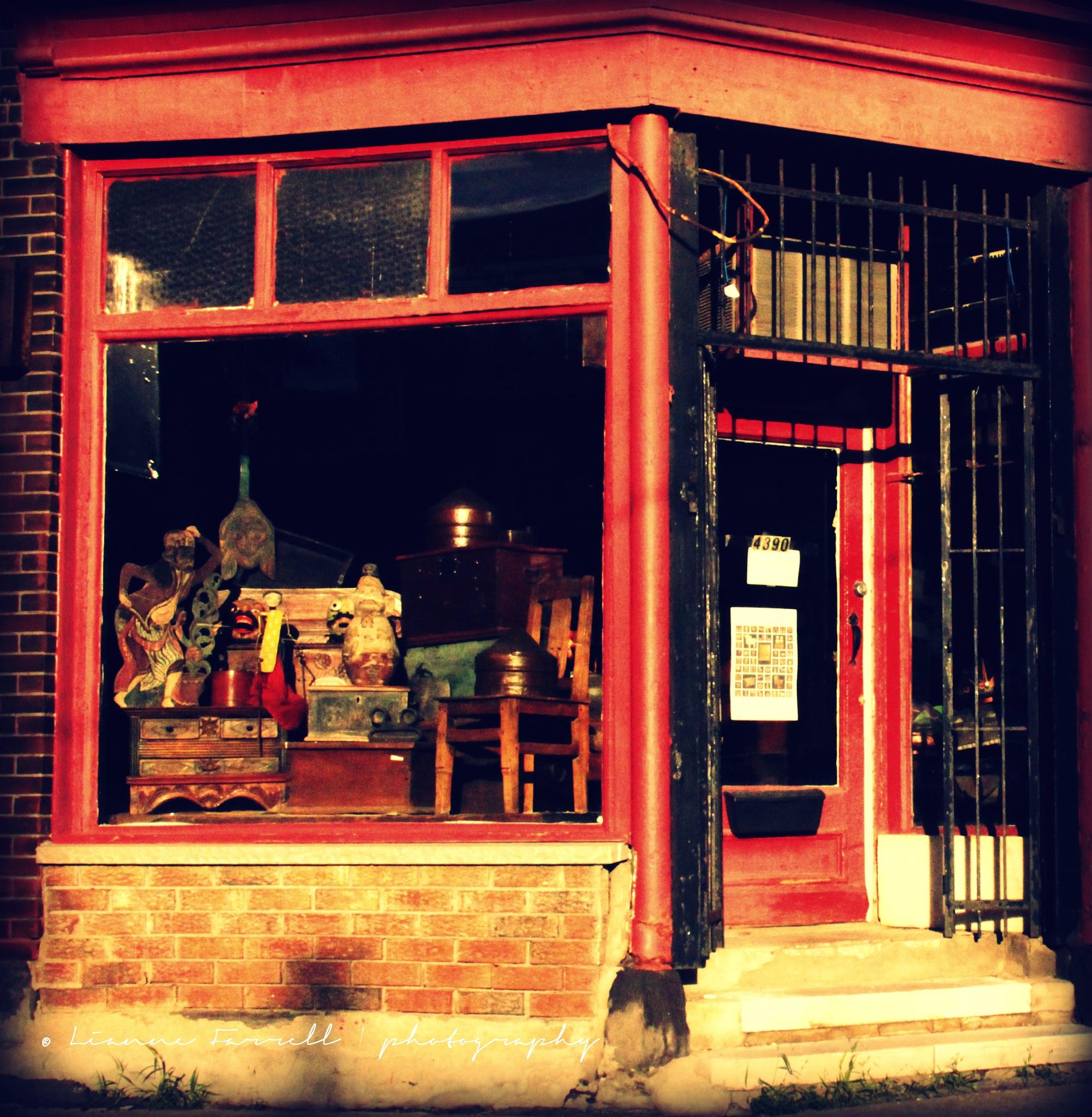 window shopping by candid'Li