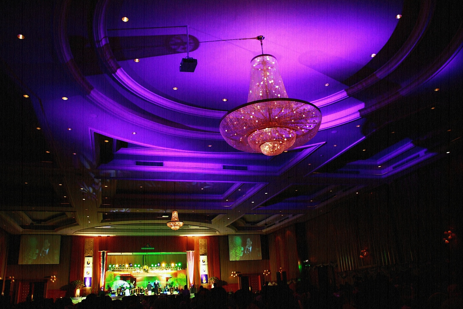 Photo in Celebrities #party night #convention hall #night in bangkok