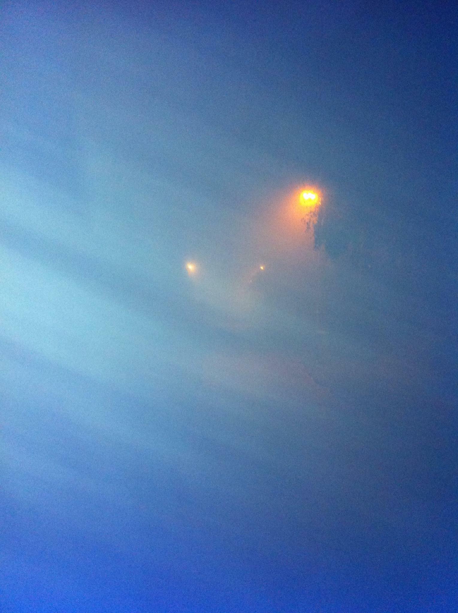 Mist in the evening by Daniel Svensson