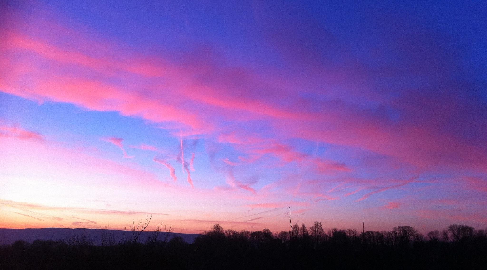 Sunrise from my window by Steven James Homewood