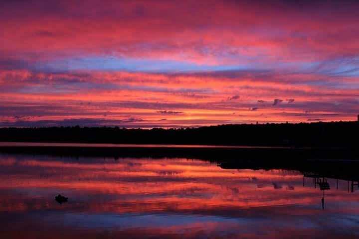sunrise at camp by ShutterDot