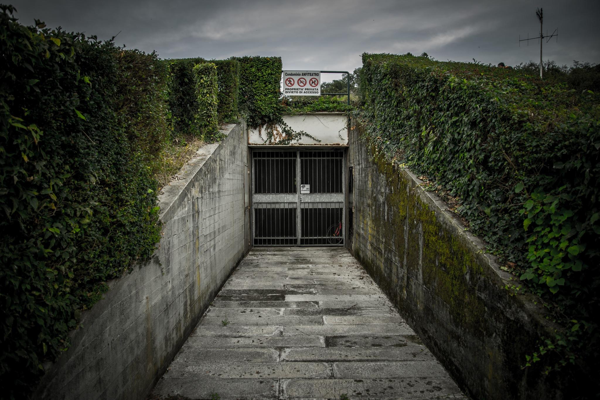 Creepy Entrance by Michele Masoero