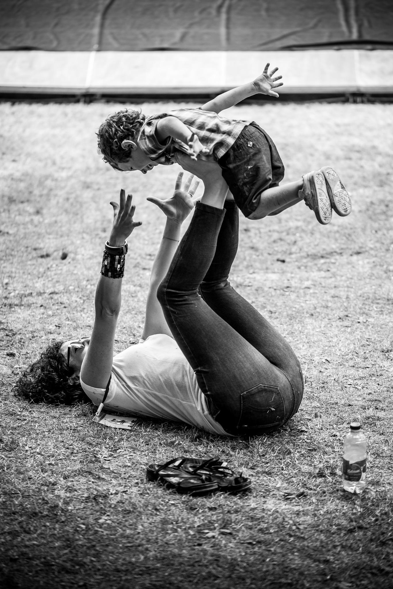 Mother & Son by Michele Masoero
