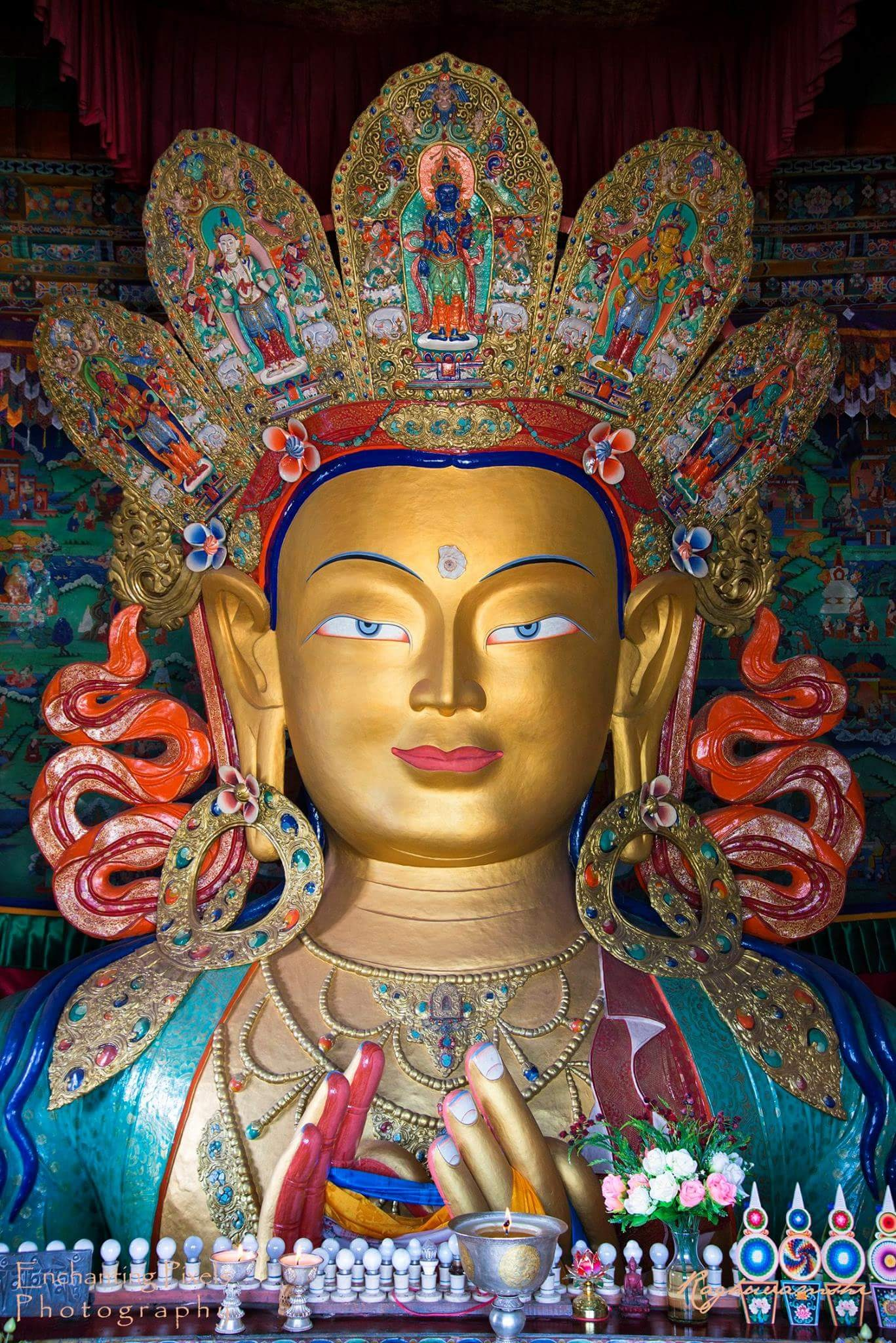 Serene Buddha by Vinayak Raghuvamshi