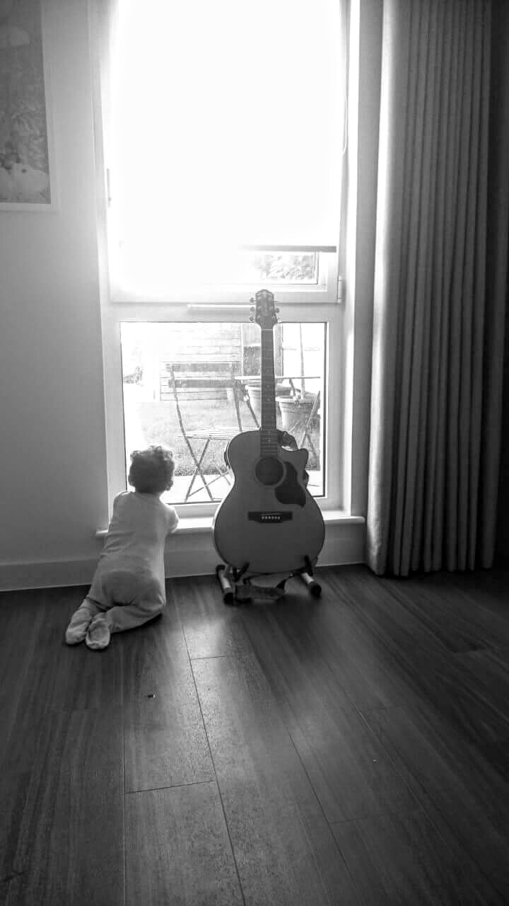 My Boy, My Guitar  by Oliver Laughton