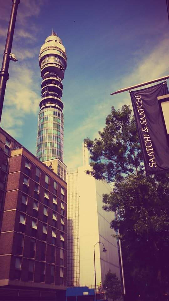 Tower in London  by Oliver Laughton