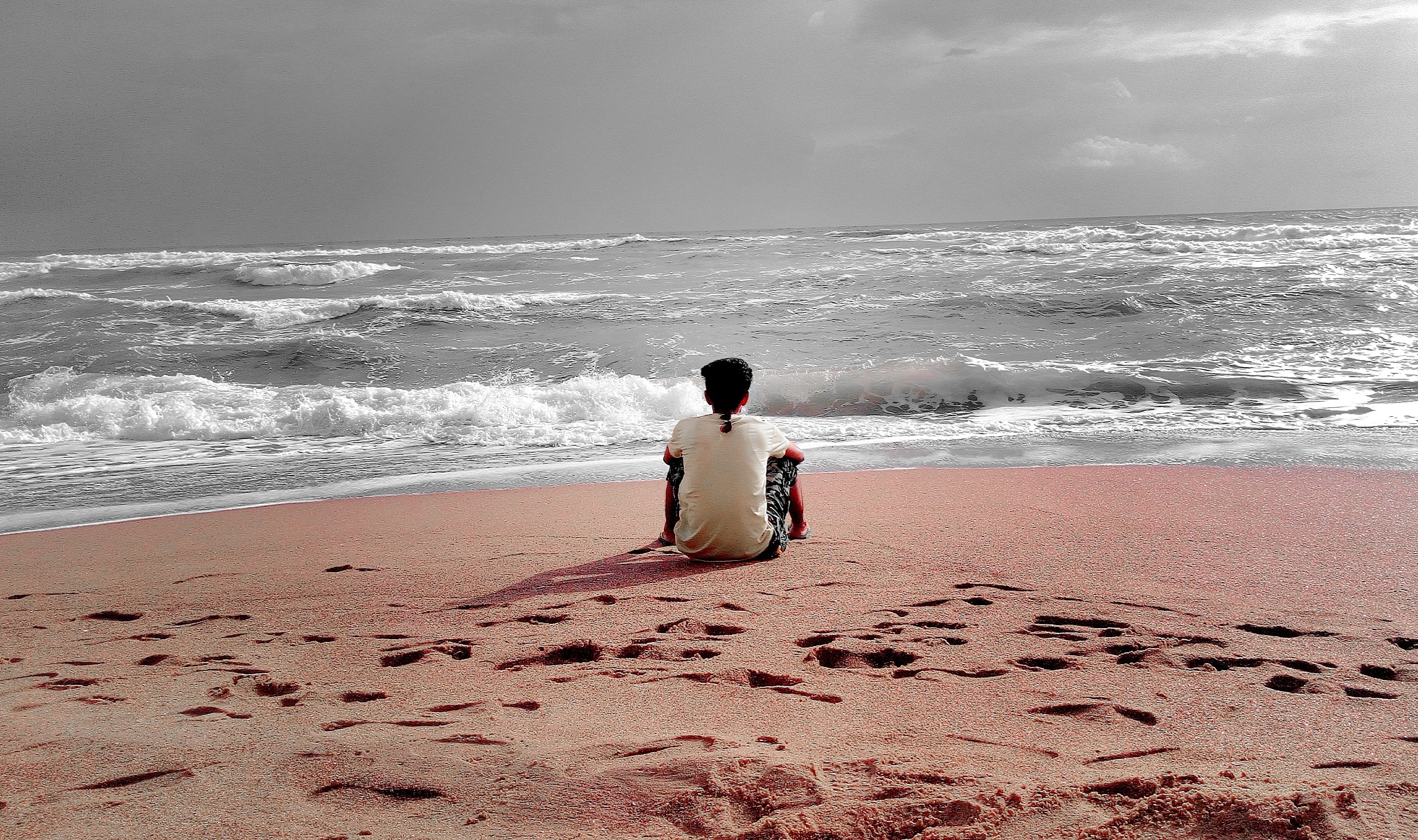Silent me Infront of you by Shubham Sunny