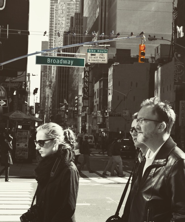 Times Square  by The Bigger Picture Photography