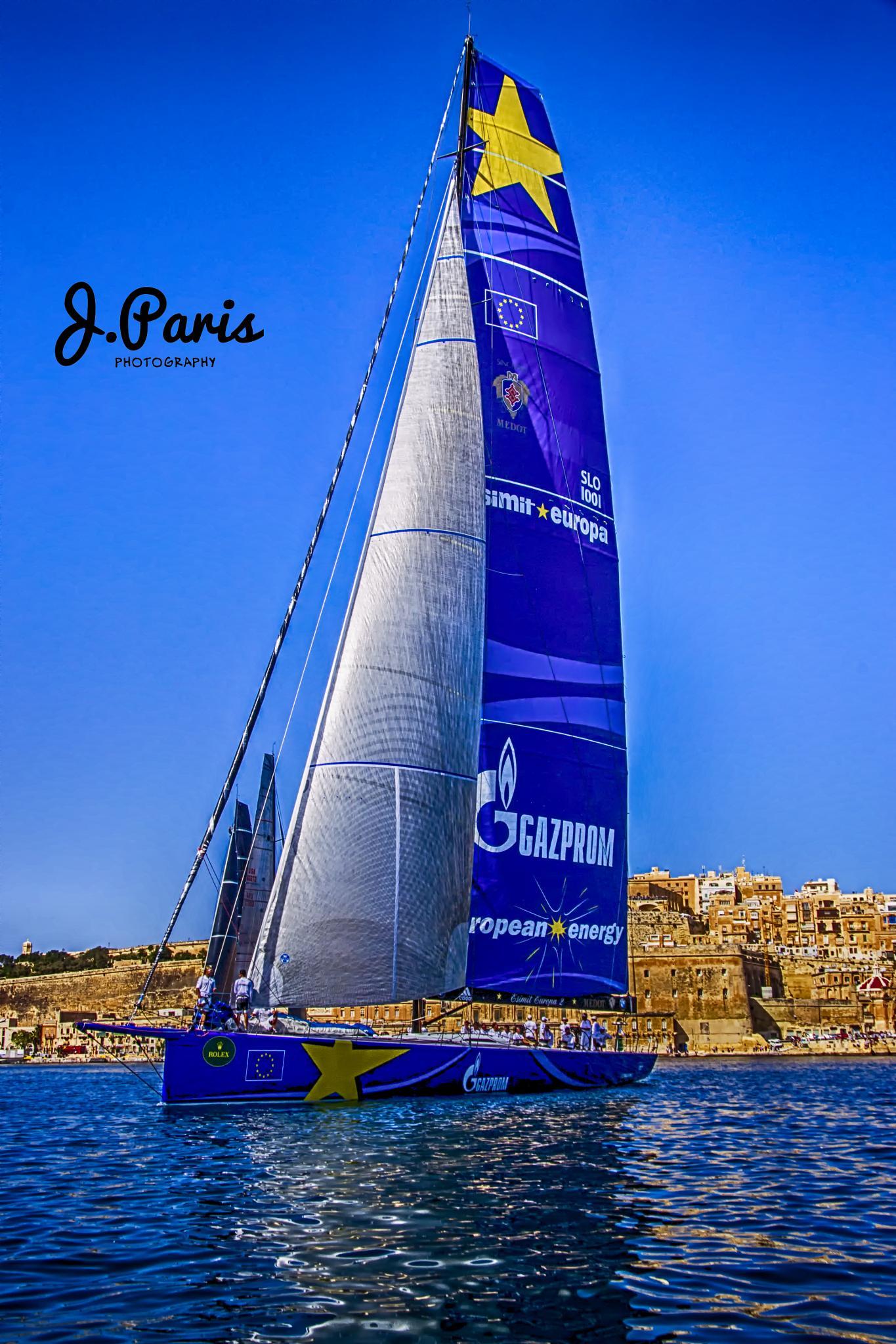 Rolex Middle Sea Race by Jonathan Paris
