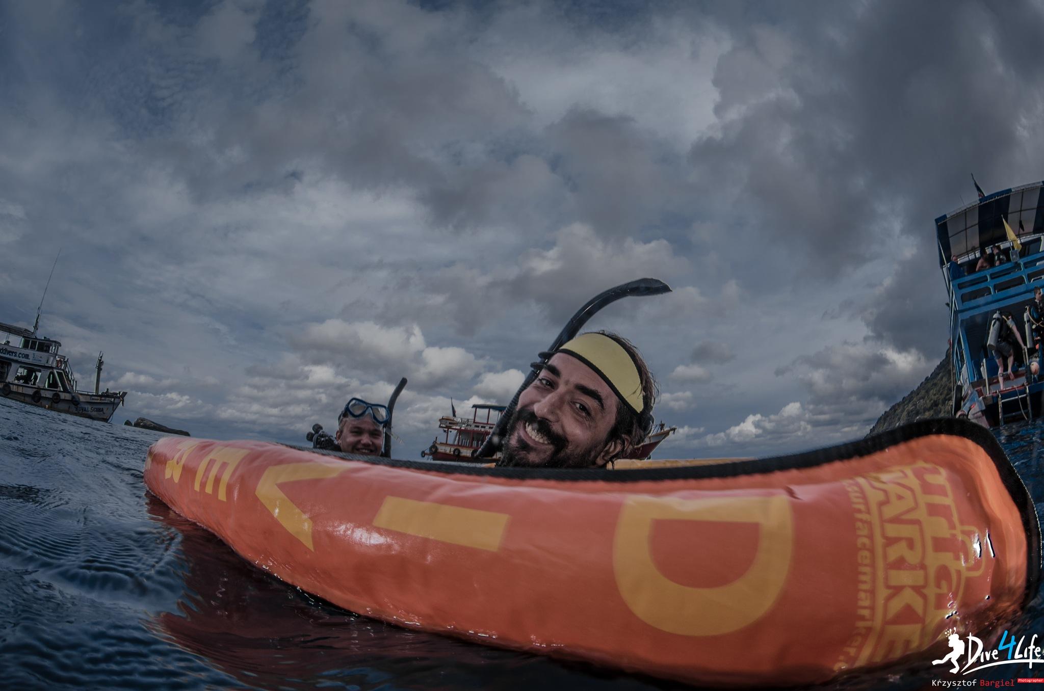 Scuba diving is fun by K.Bargiel