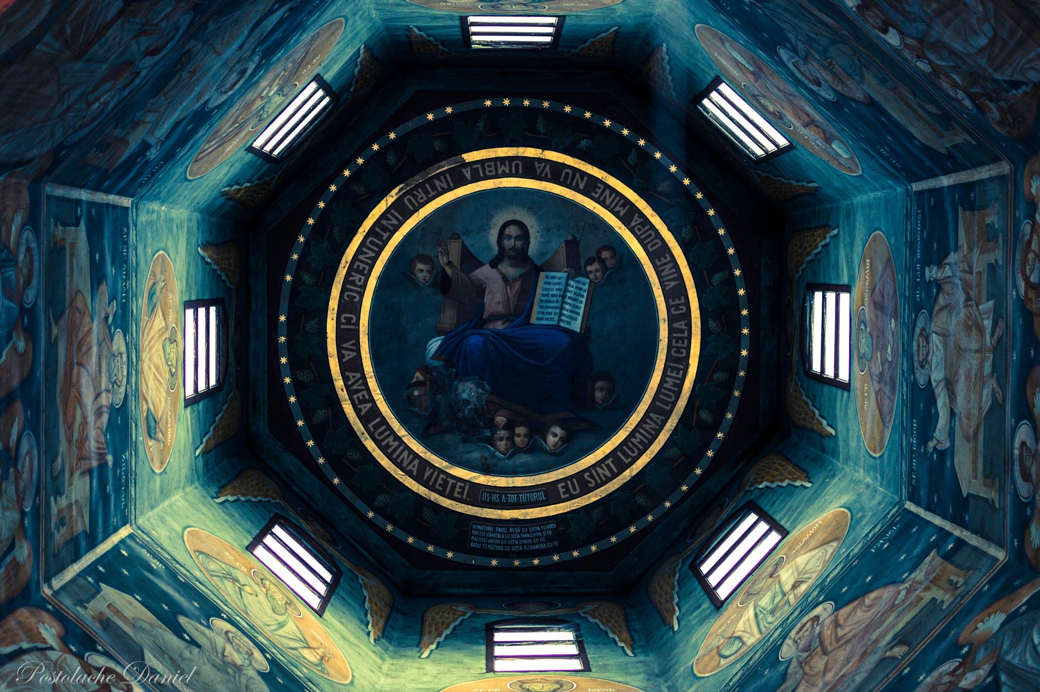 Church tower simetry by Postolache Daniel