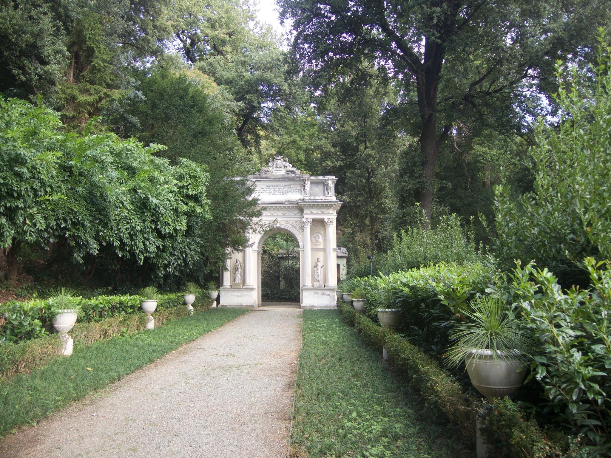 Villa Pallavicini in Genoa Pegli by Stefano Bagnasco