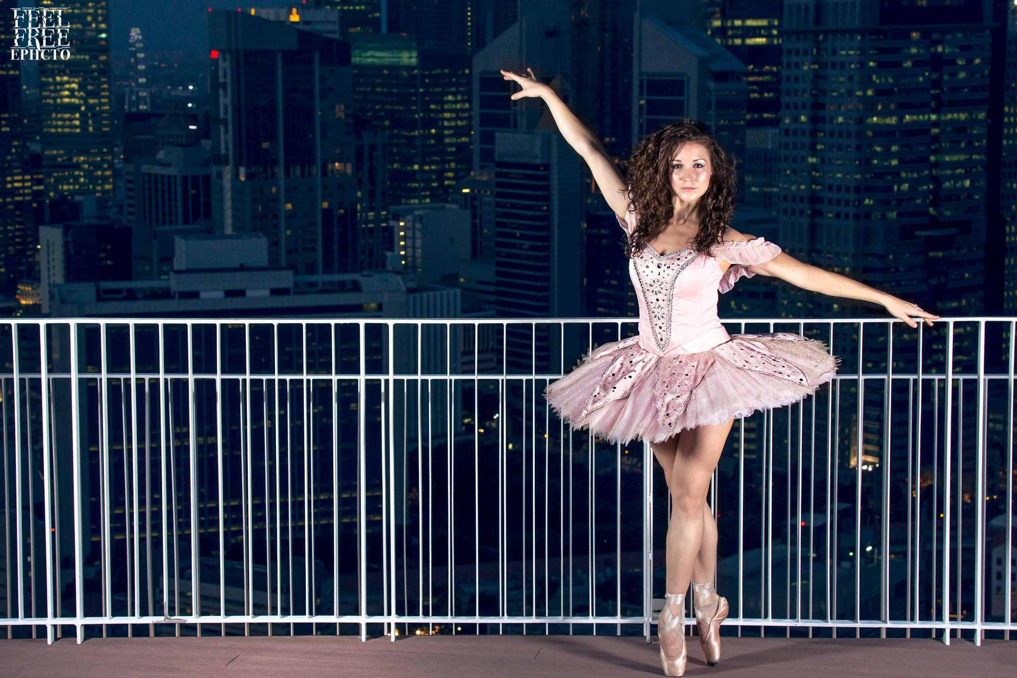 City Ballerina by ephcto  Photography