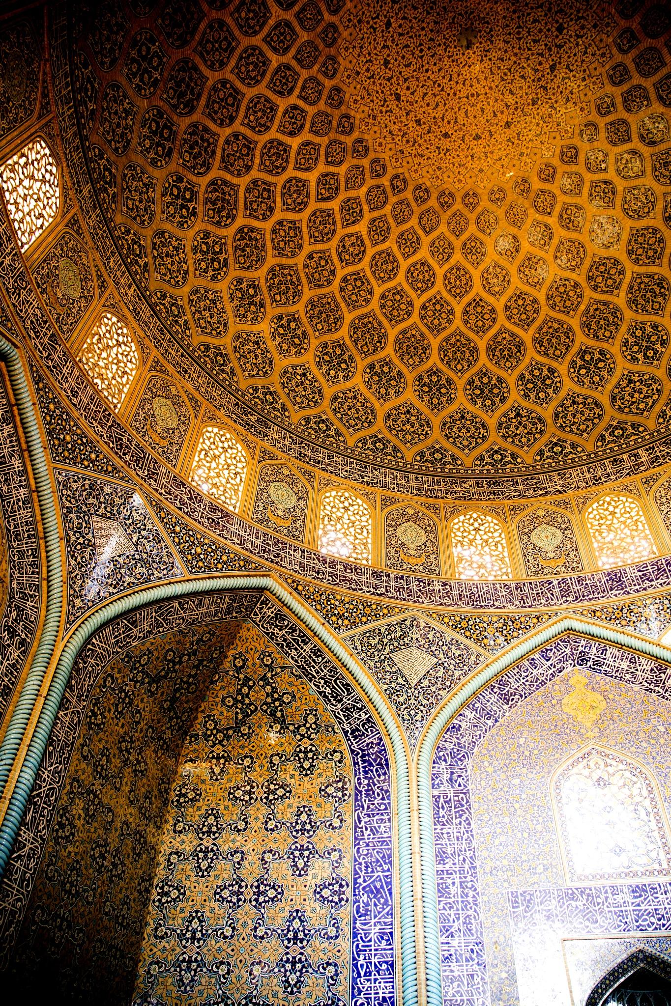 Sheykh Lotfollah mosque, Isfahan - مسجد شیخ لطف الله اصفهان by Babak Javid
