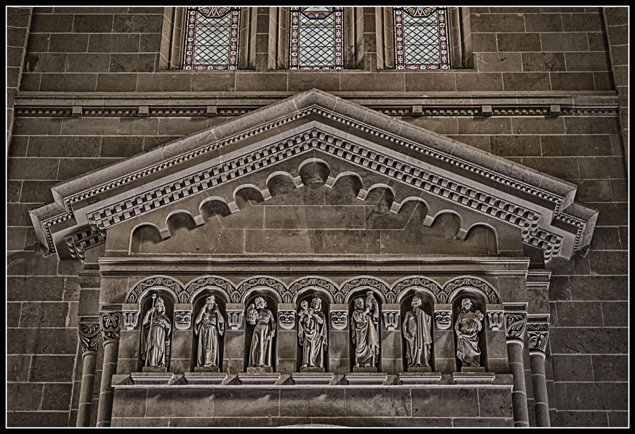 Saints Statues by Anthony Bonnici