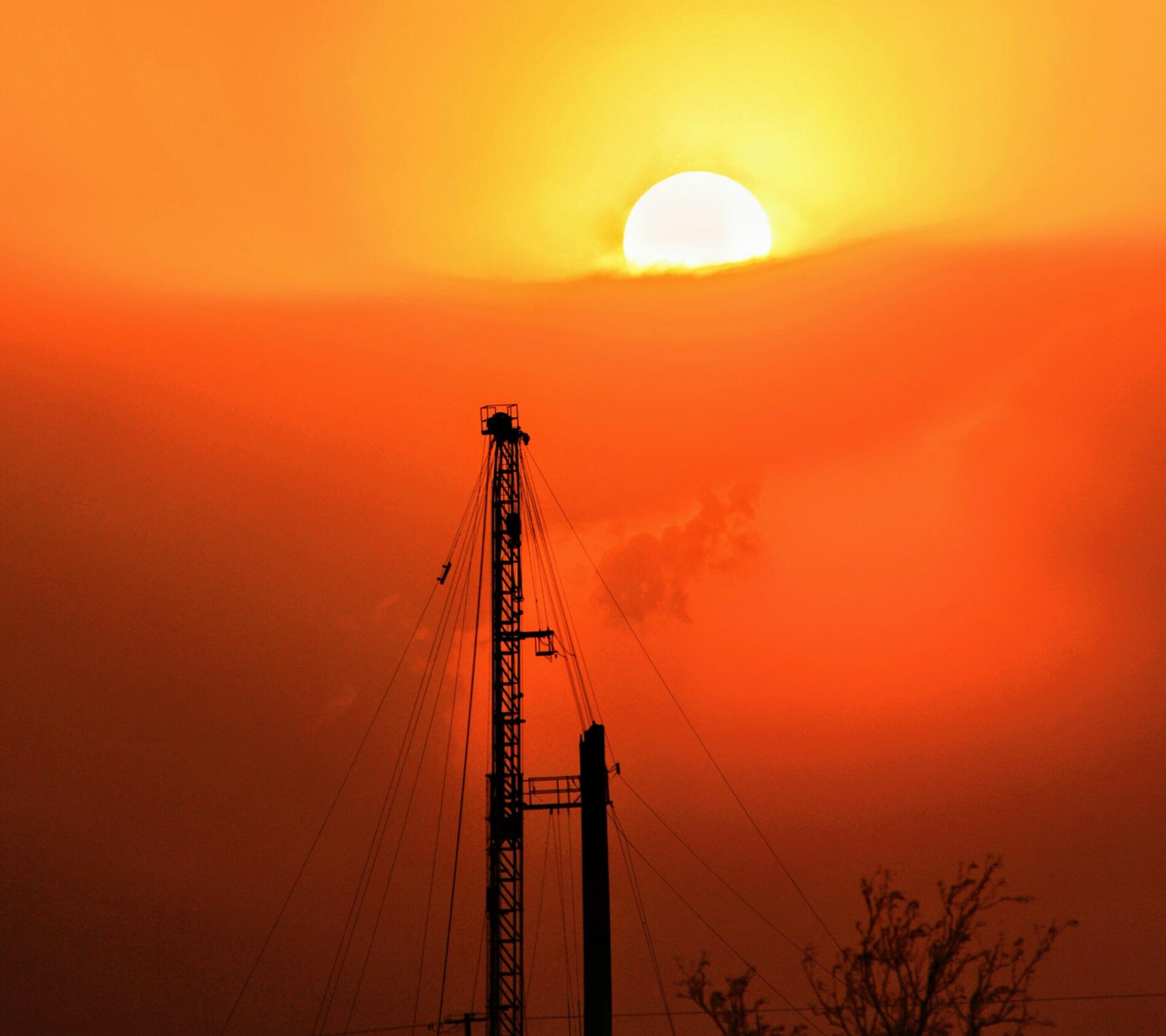 Sunset - Permian Basin by jphall