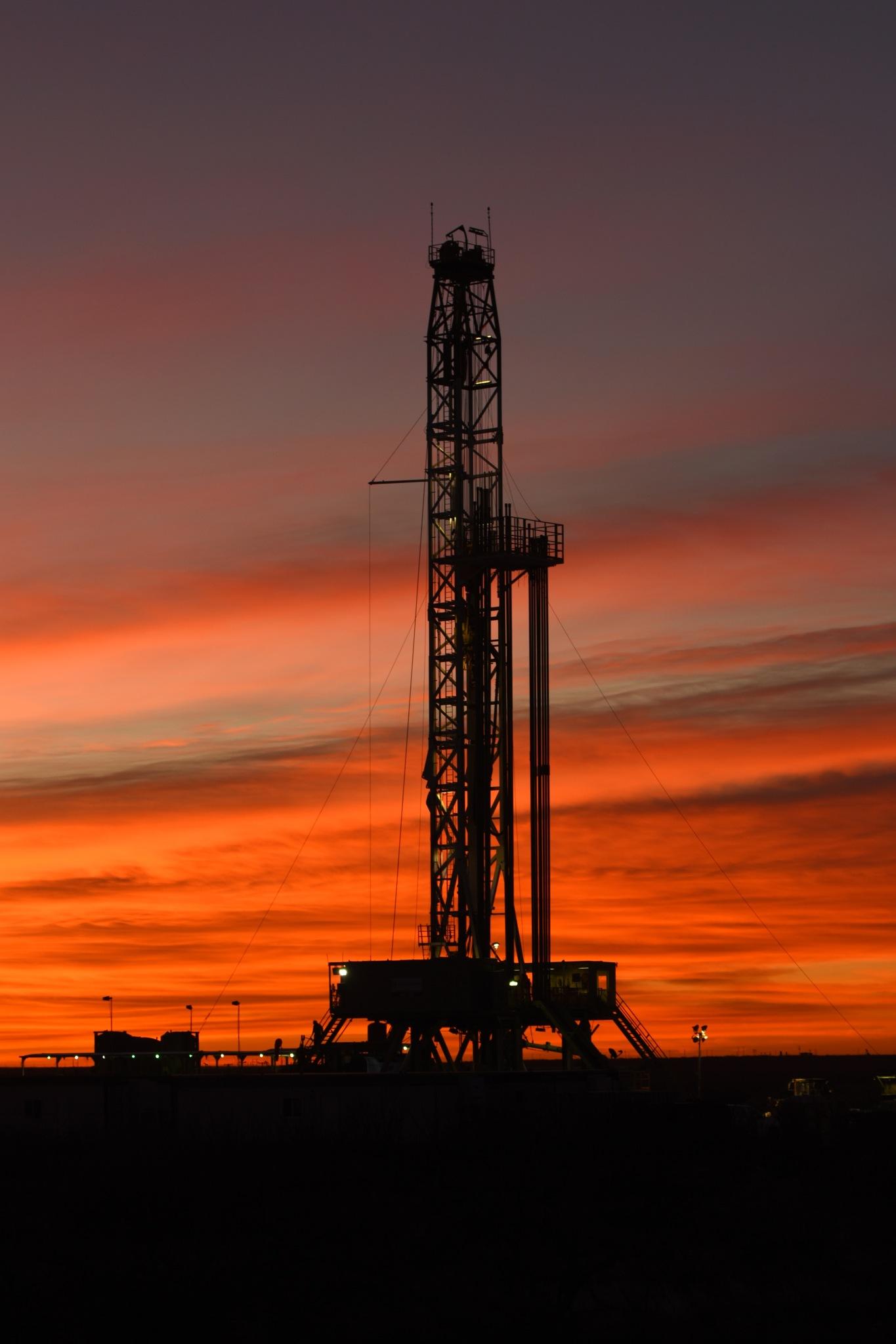 Sunrise West Texas Oilfiled by jphall