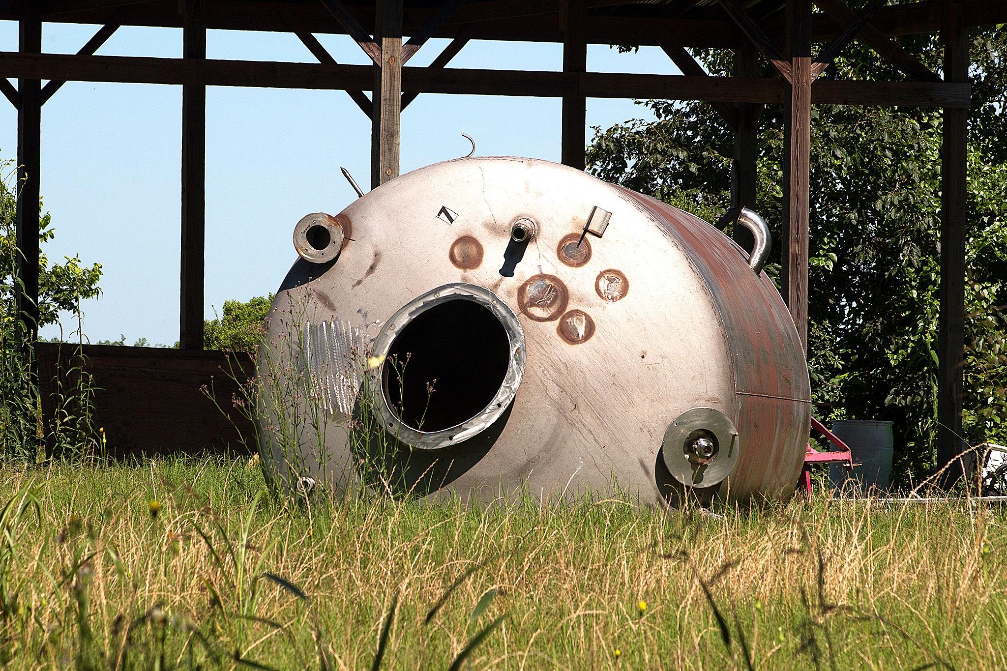 Alien Spacecraft by Joe Seawright