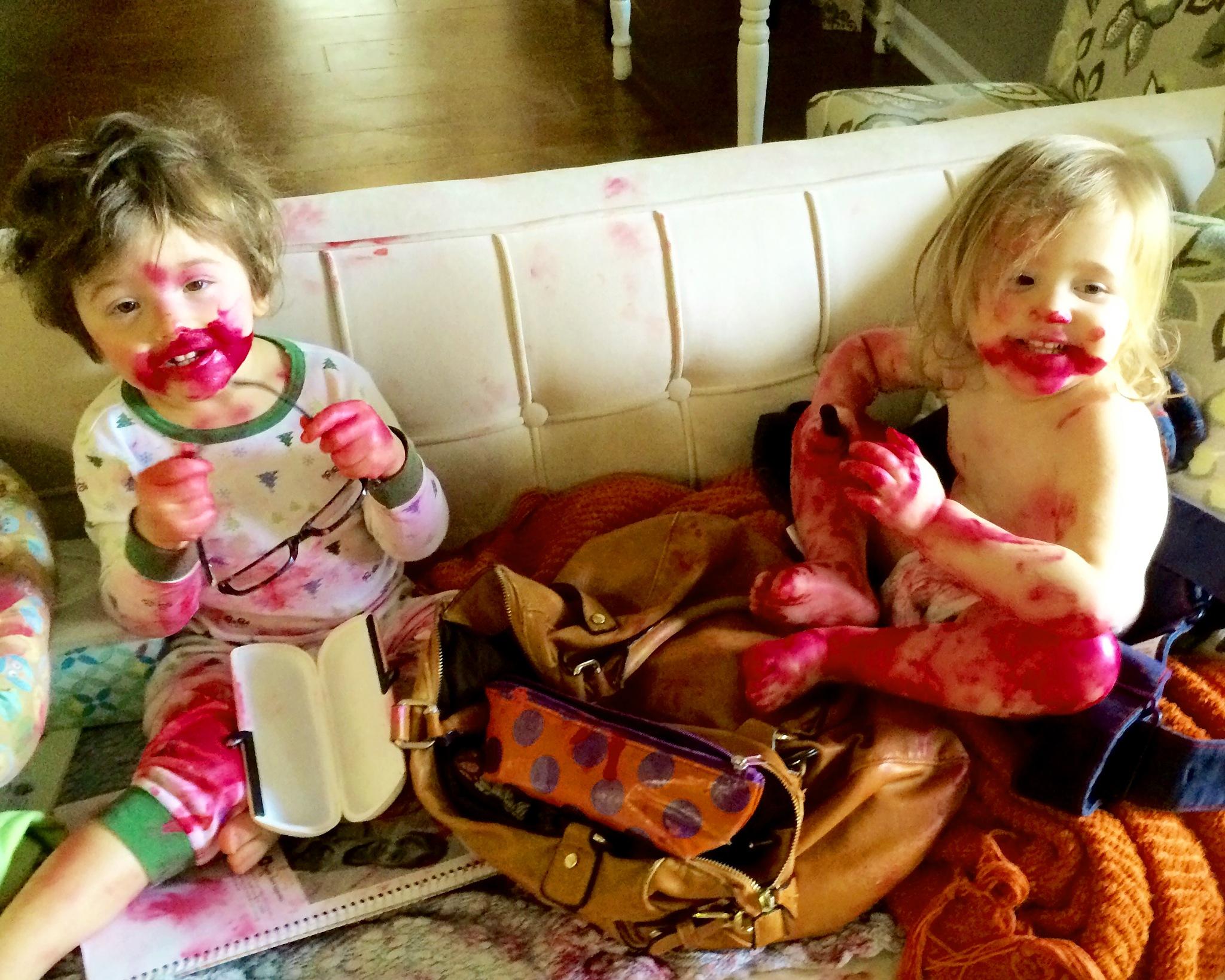 Lipstick Zombie Twins by Joe Seawright