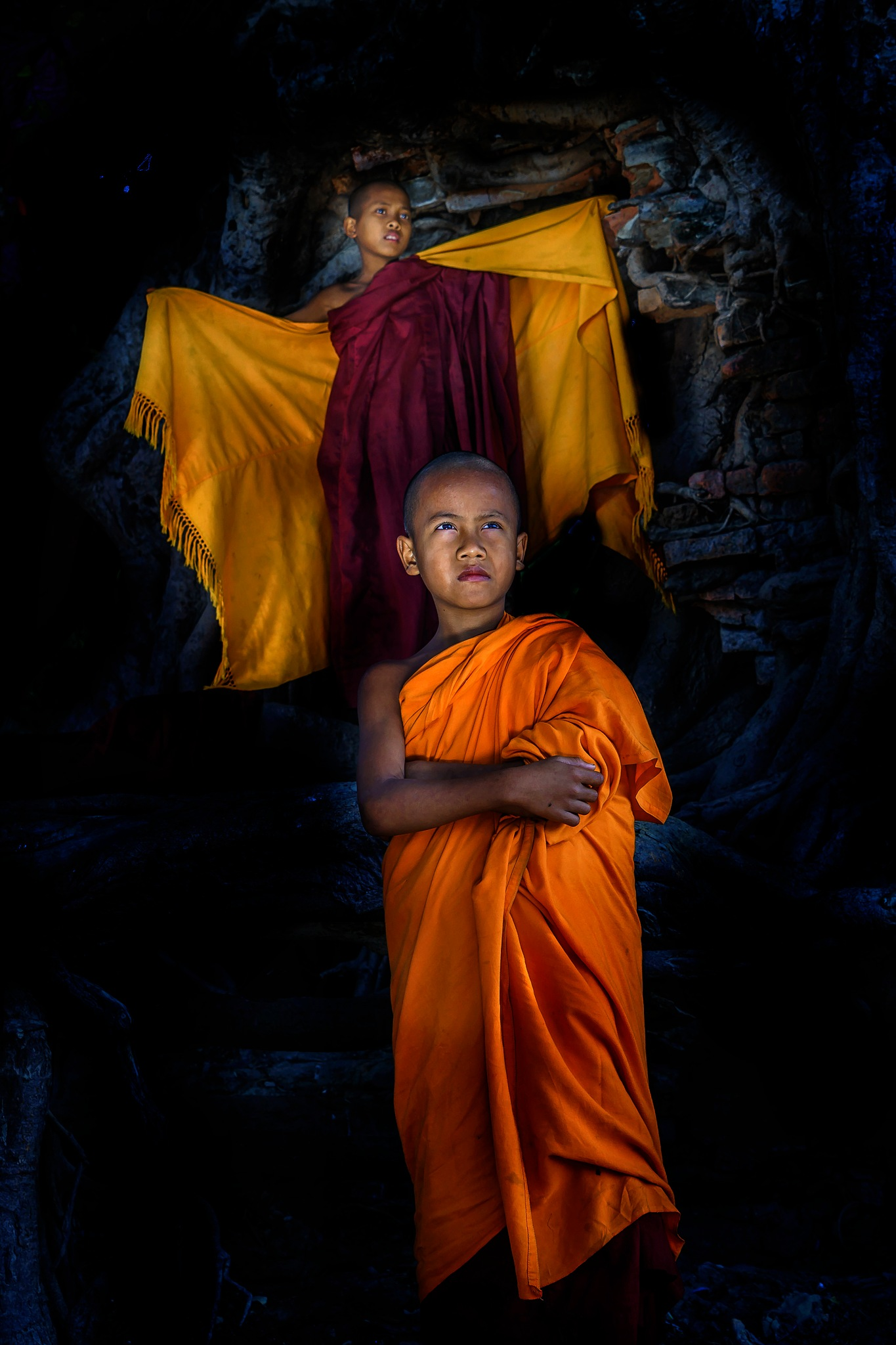 The Monks of Burma(Myanmar) by Htet Aung