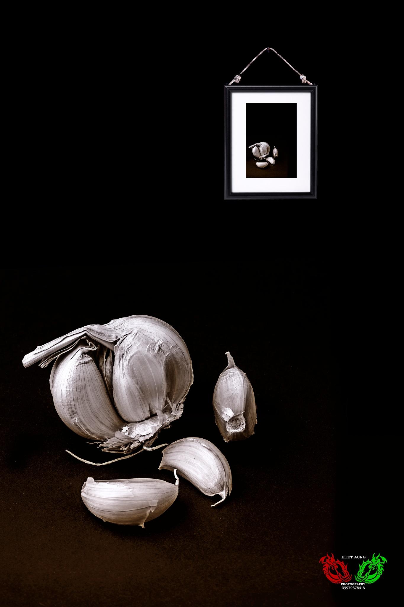 Garlic by Htet Aung