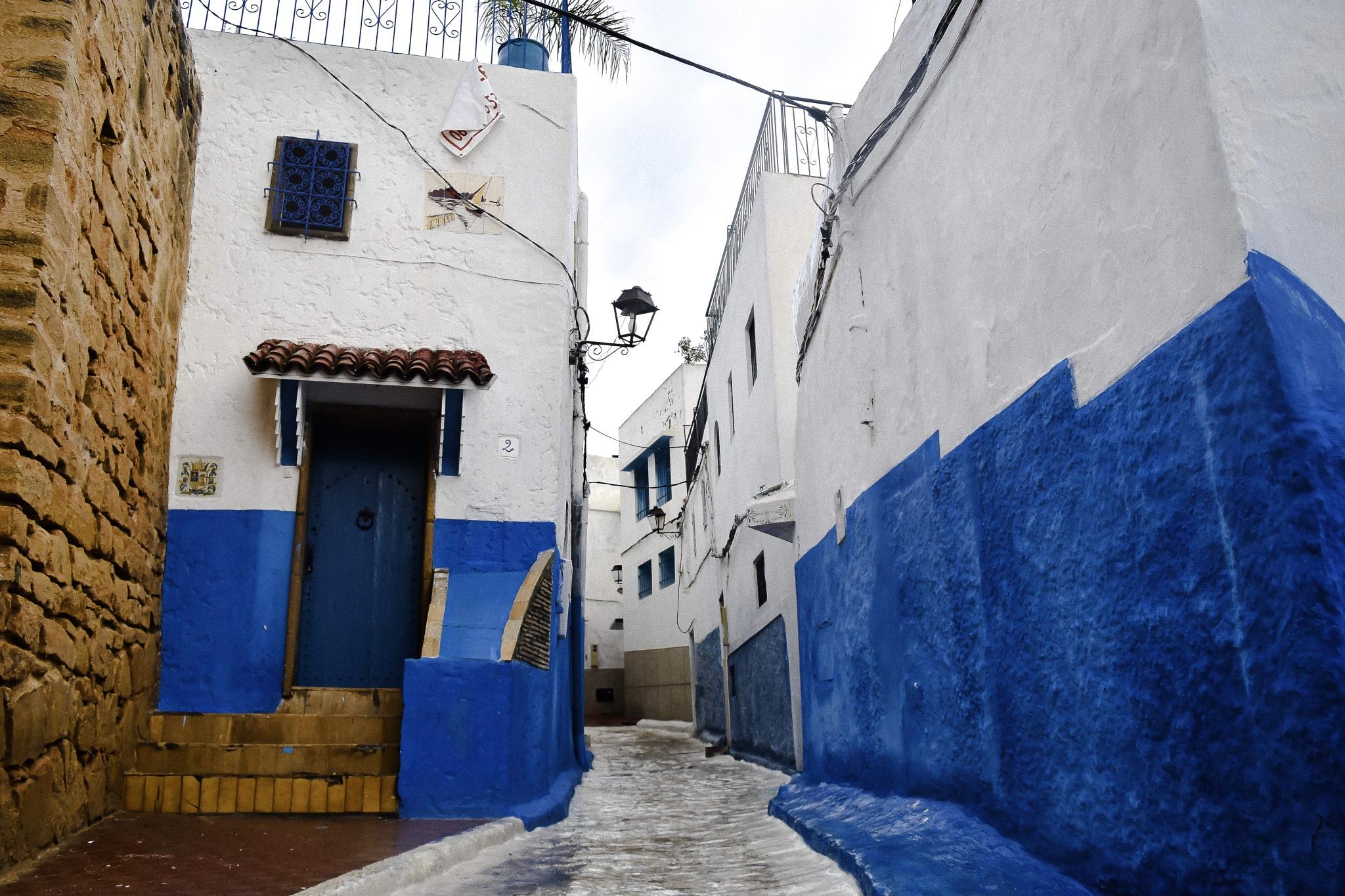 Kasbay of Udayas   Rabat, Morocco by Jurgen Cassar
