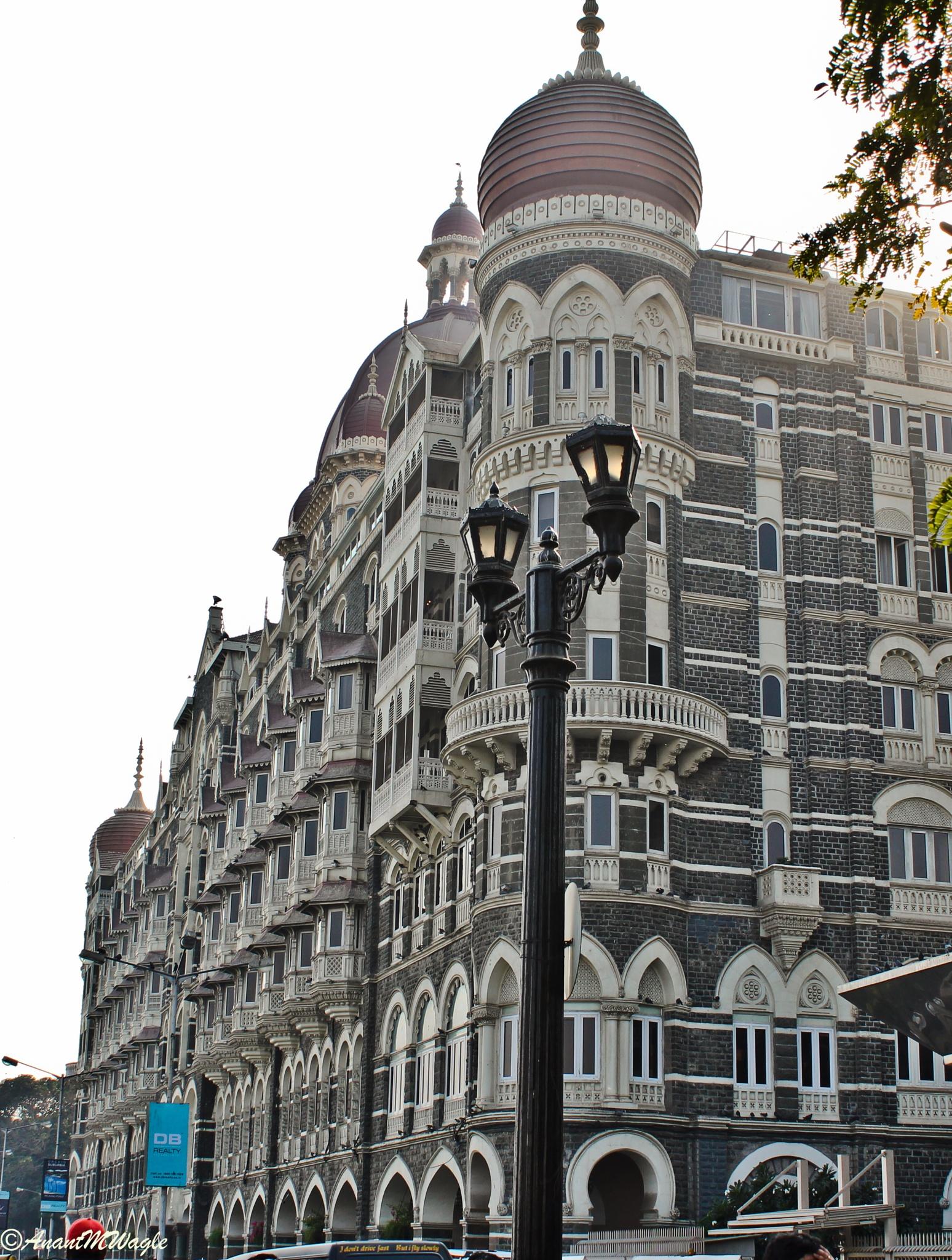 Hotel Taj at Mumbai by Anant Wagle