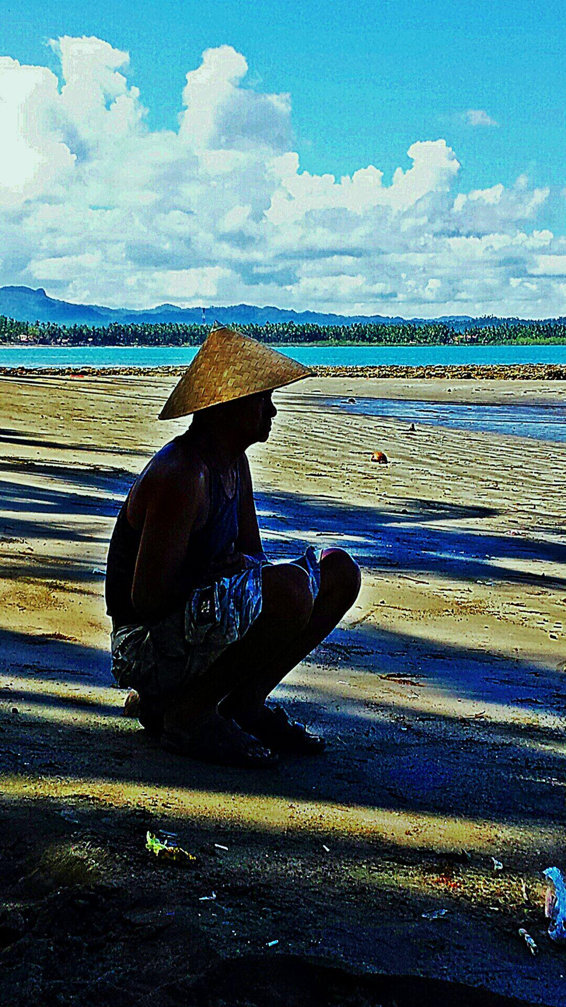 The Fisherman by Erlinda Bocar Kantor