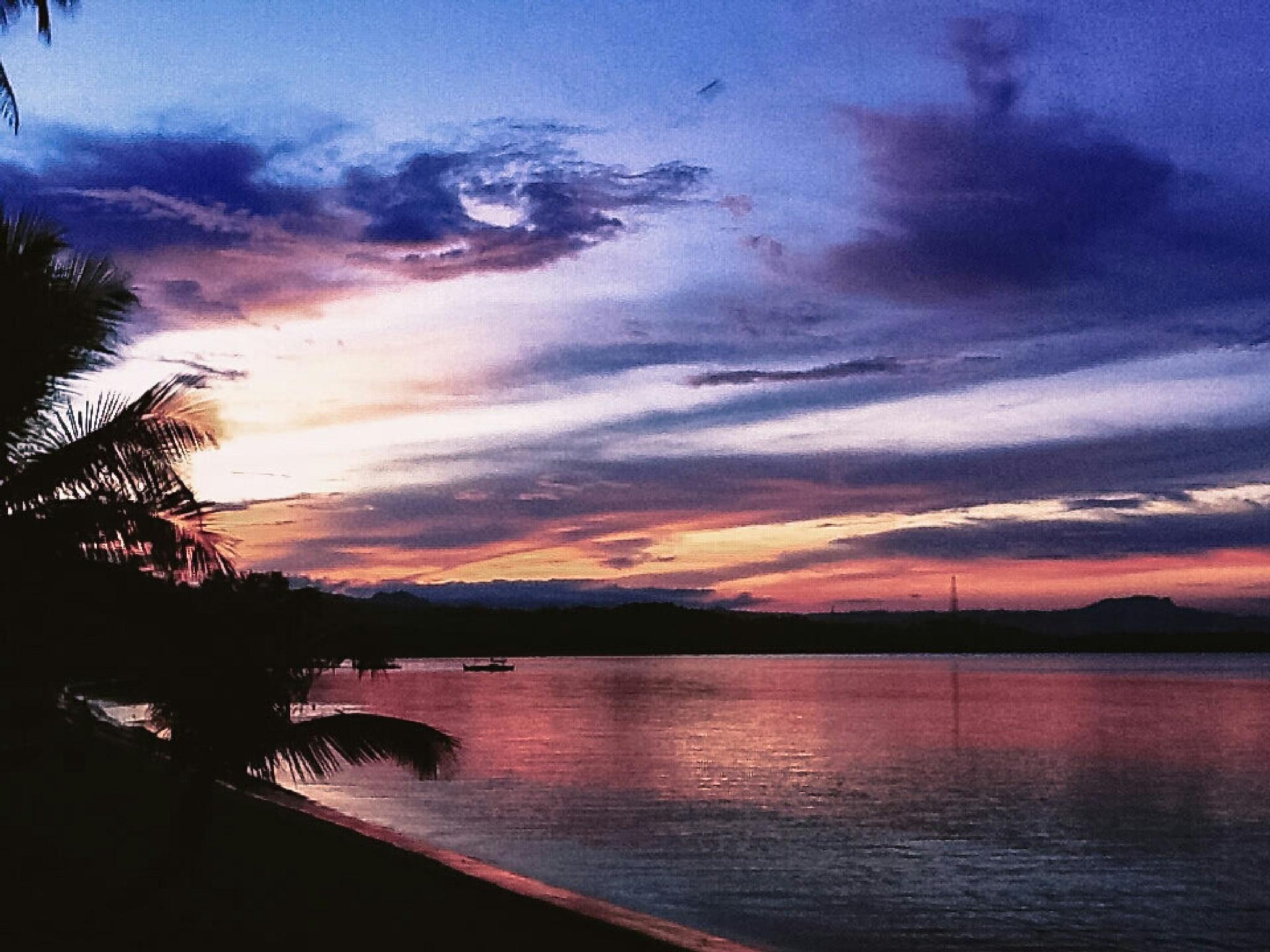 Photo in Landscape #sunset #cabong #beach #borongan #city #eastern #samar #philippines