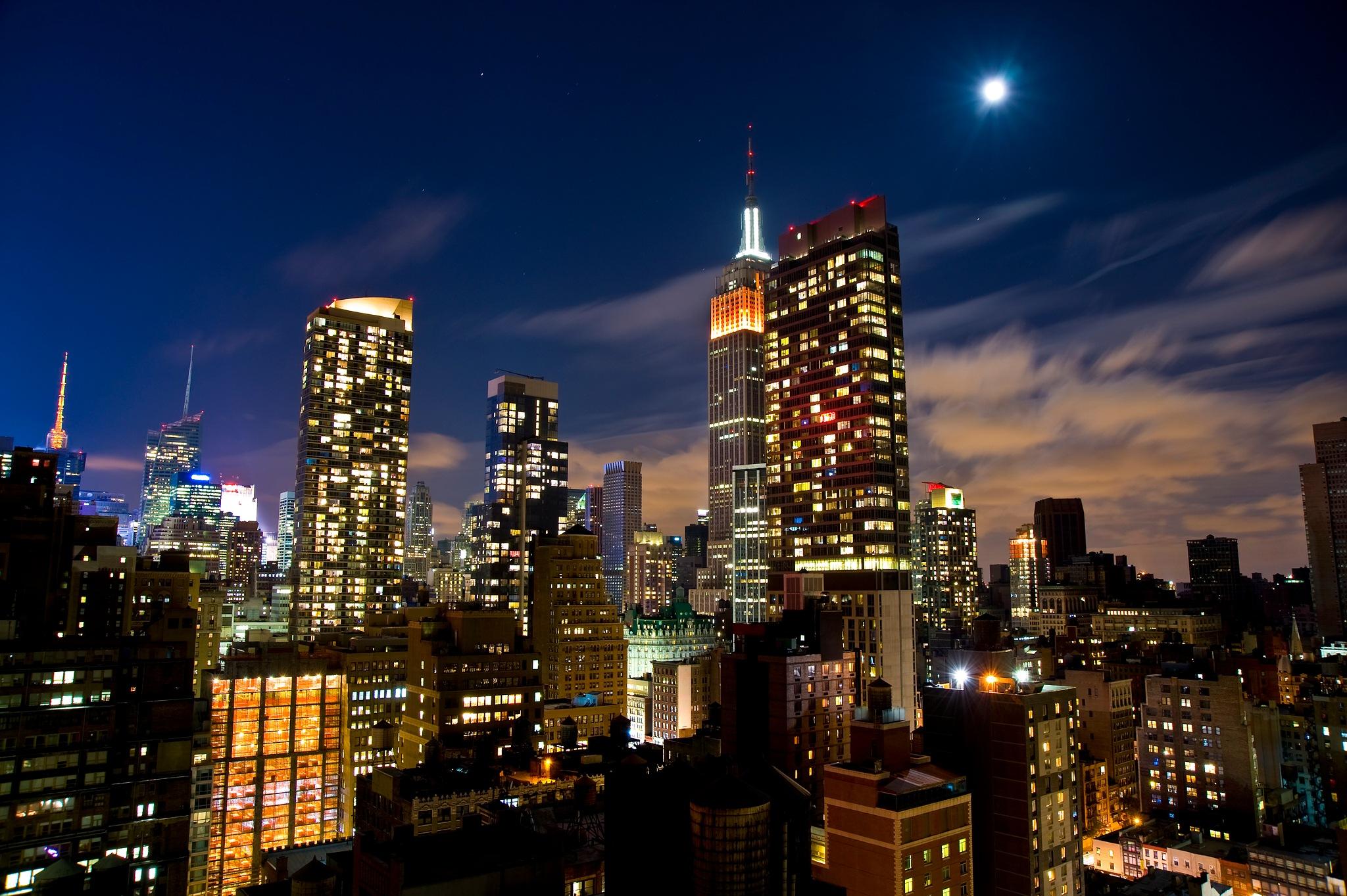 Moon Over Empire by Collitonstudio