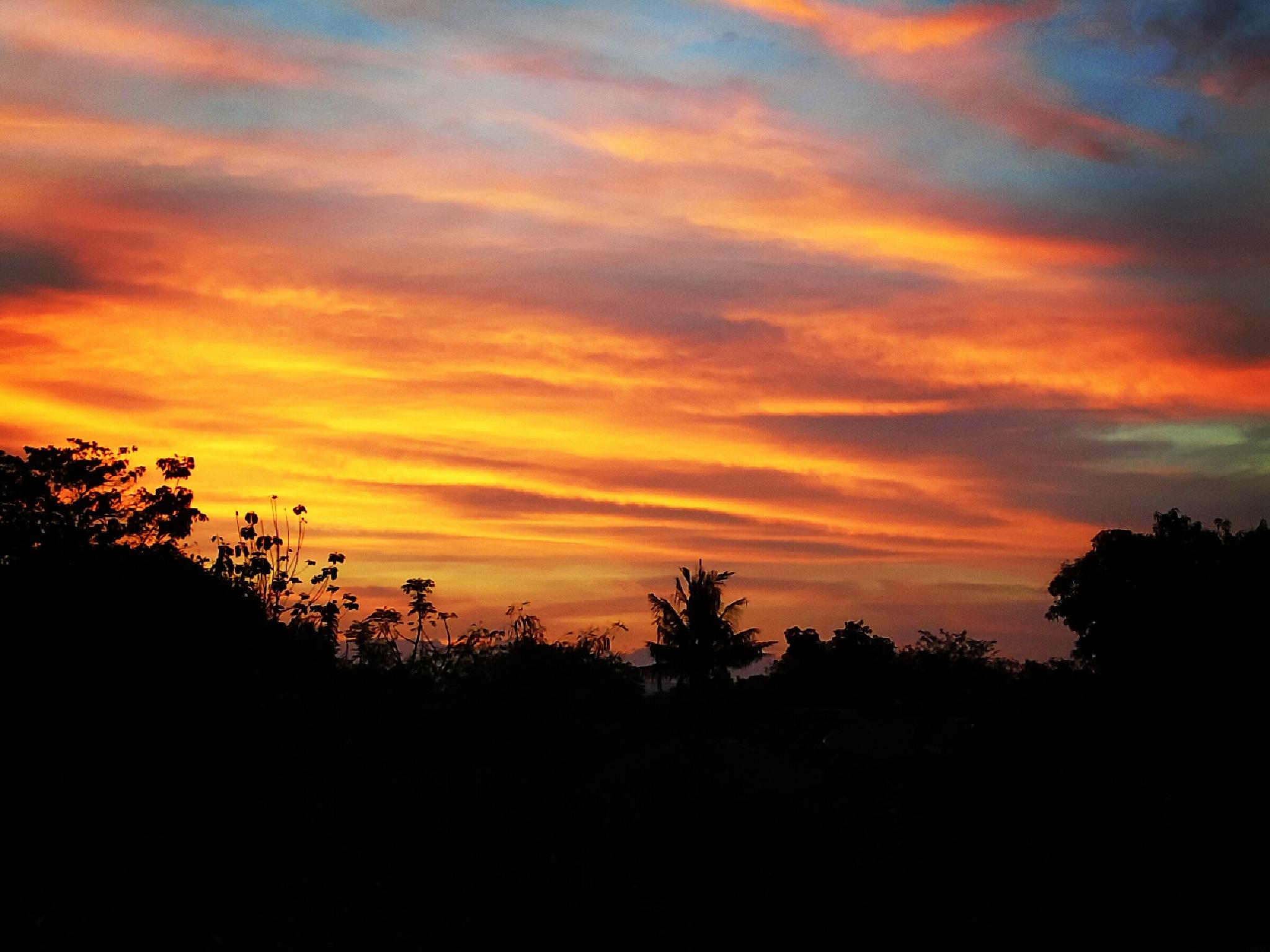 sunset by Novito