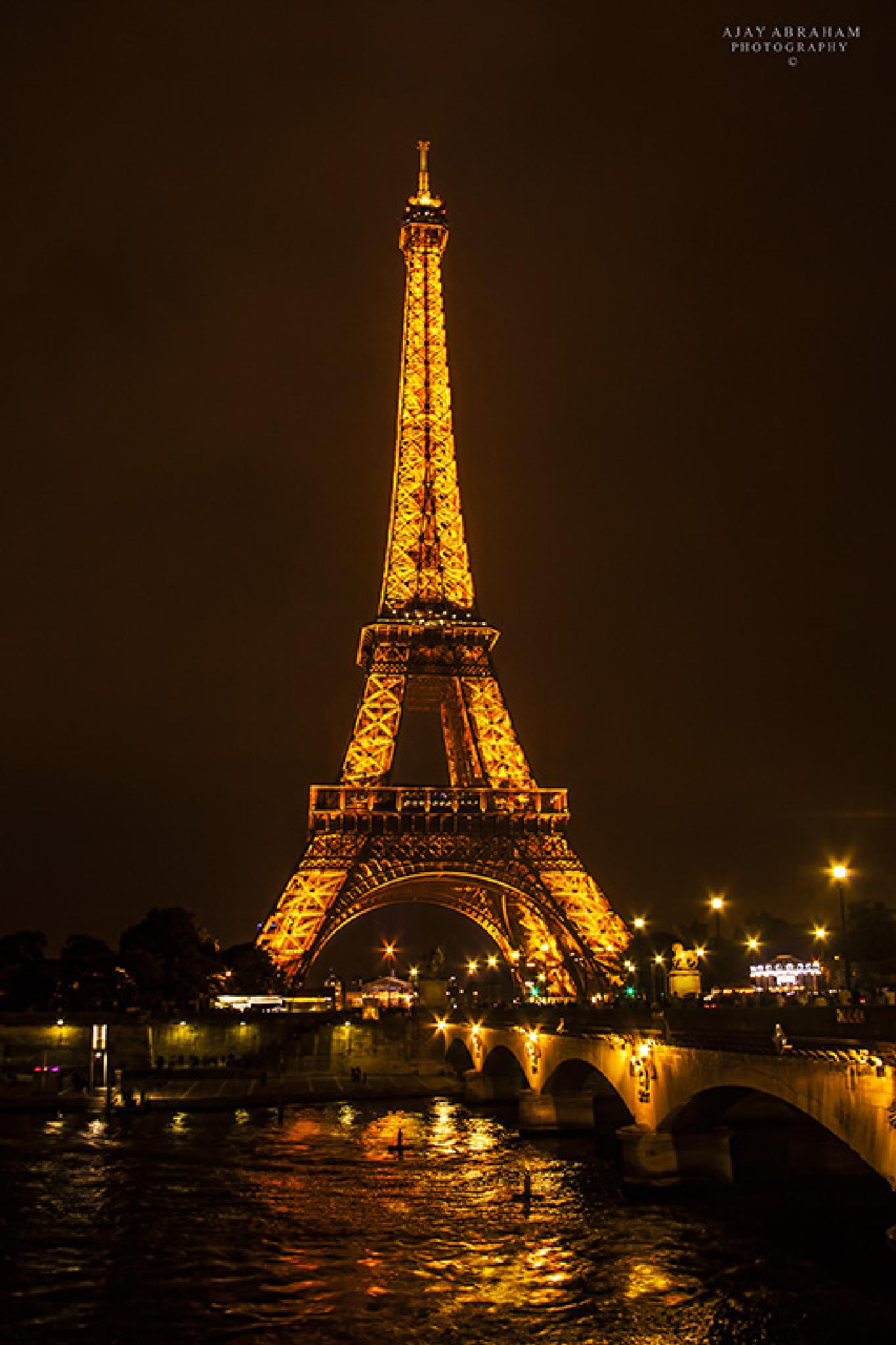 Eiffel By the river by ajayabraham2