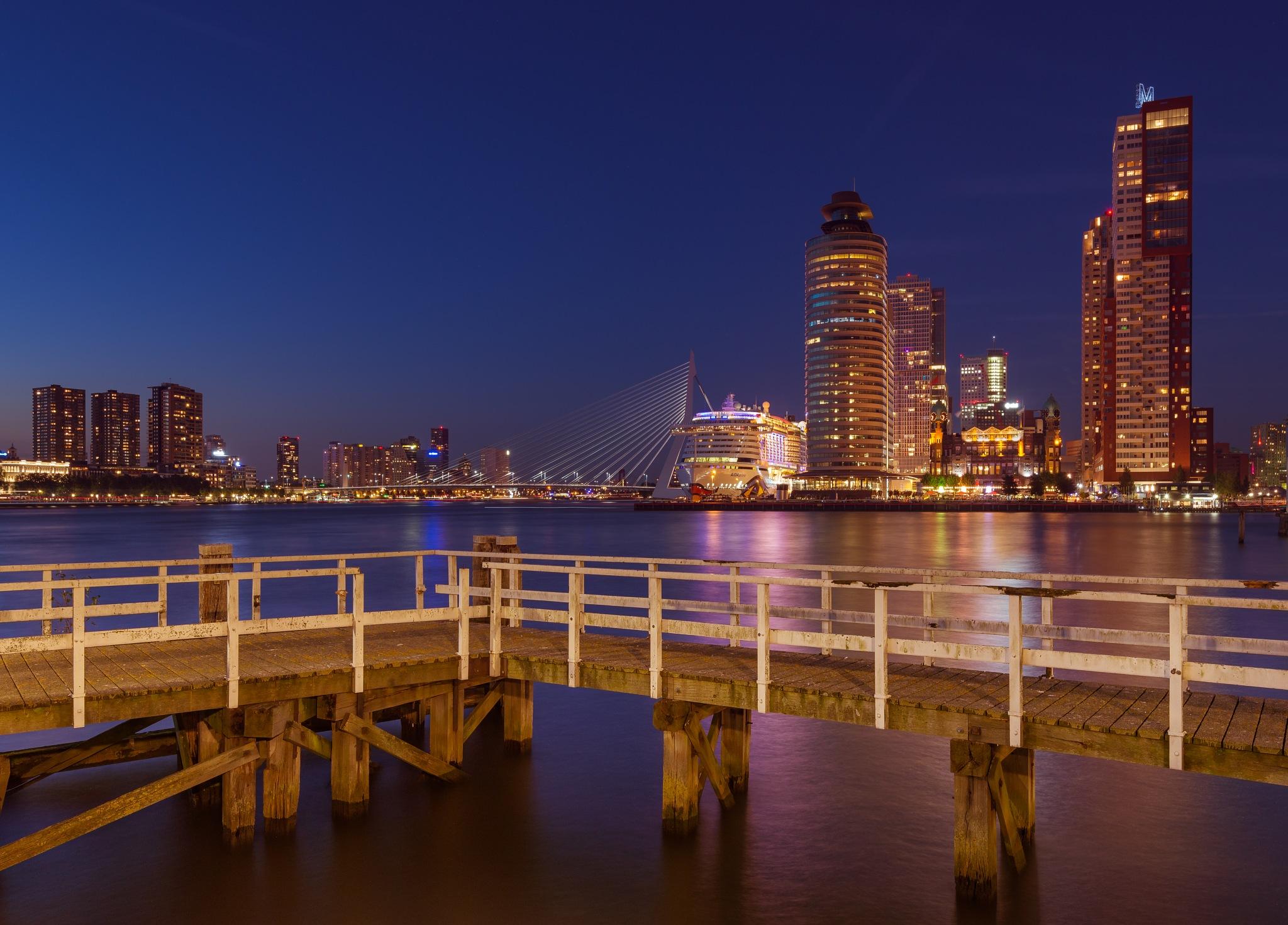 Rotterdam Skyline by Ronne Vinkx
